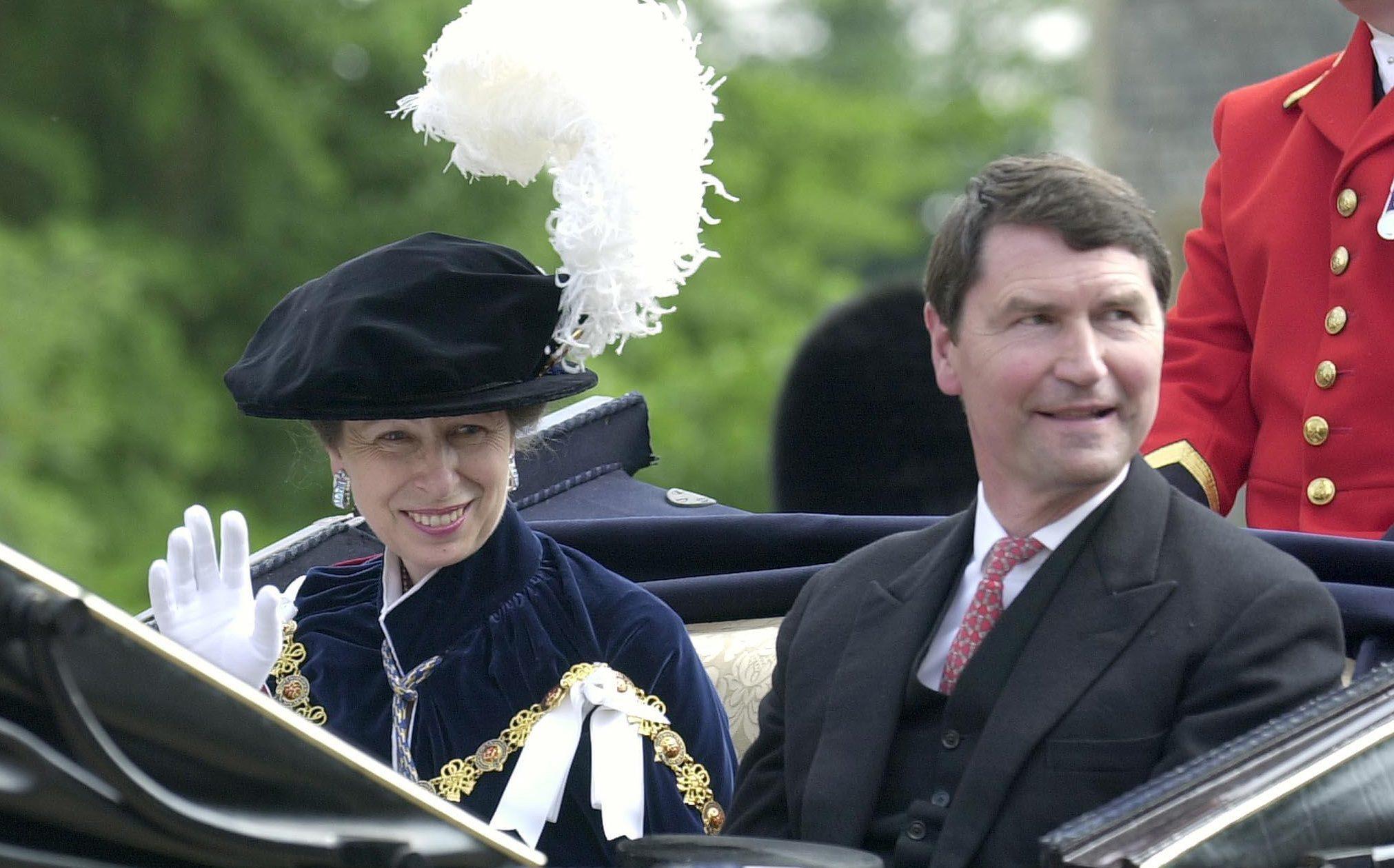 The Princess Royal and Captain Tim Laurence (PA)