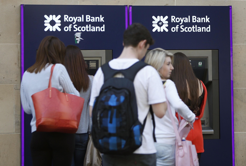 Royal Bank of Scotland ATM machines (PA)