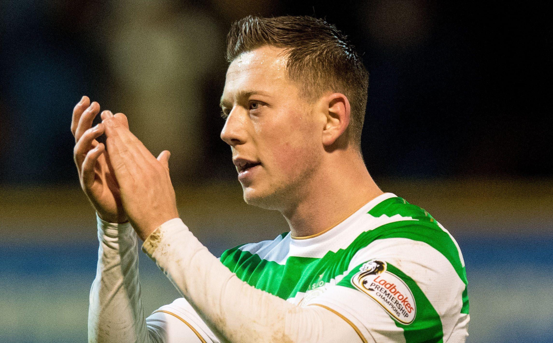 Celtic's Callum McGregor at full time (SNS Group / Ross Parker)