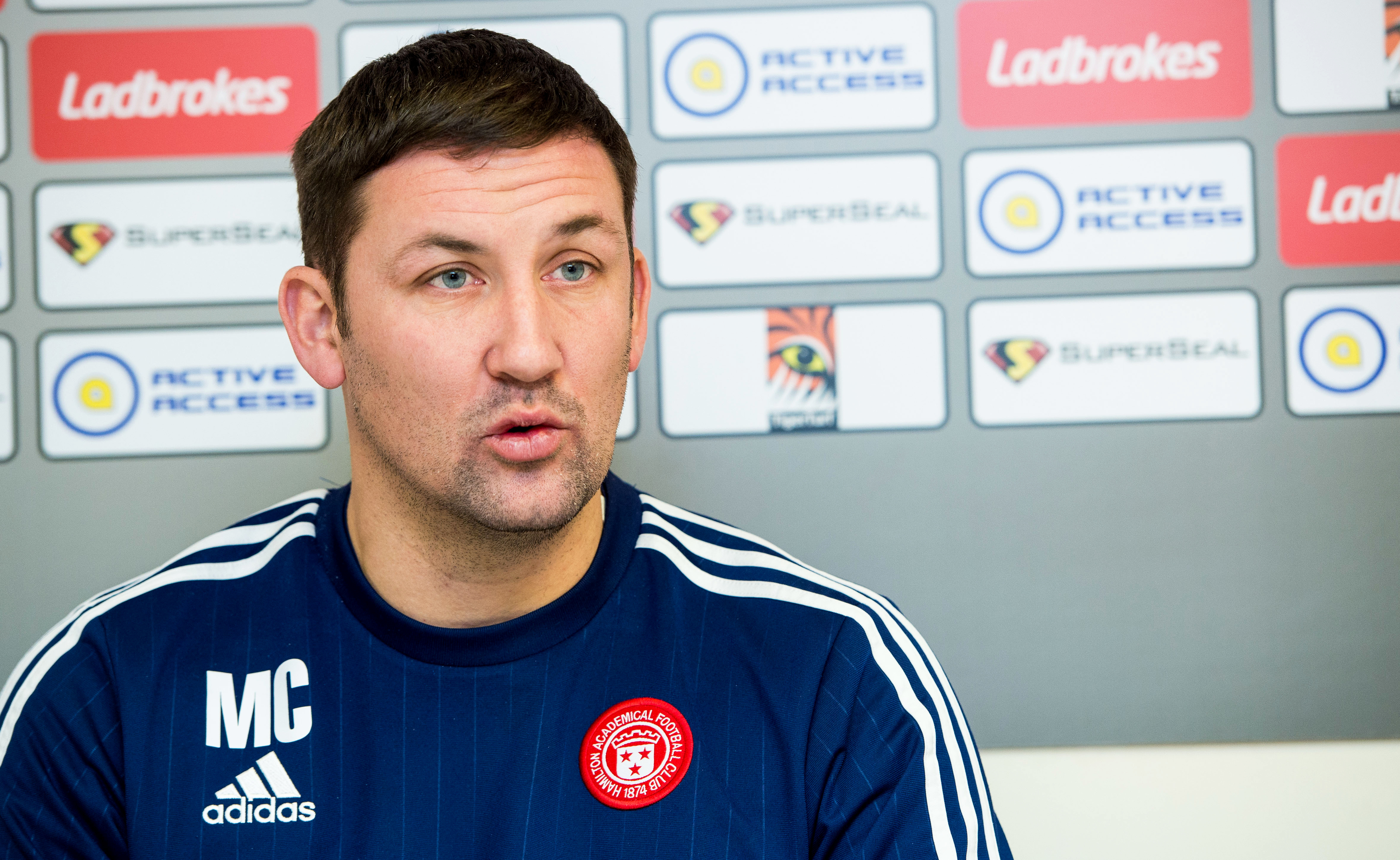 Hamilton Manager Martin Canning (SNS)