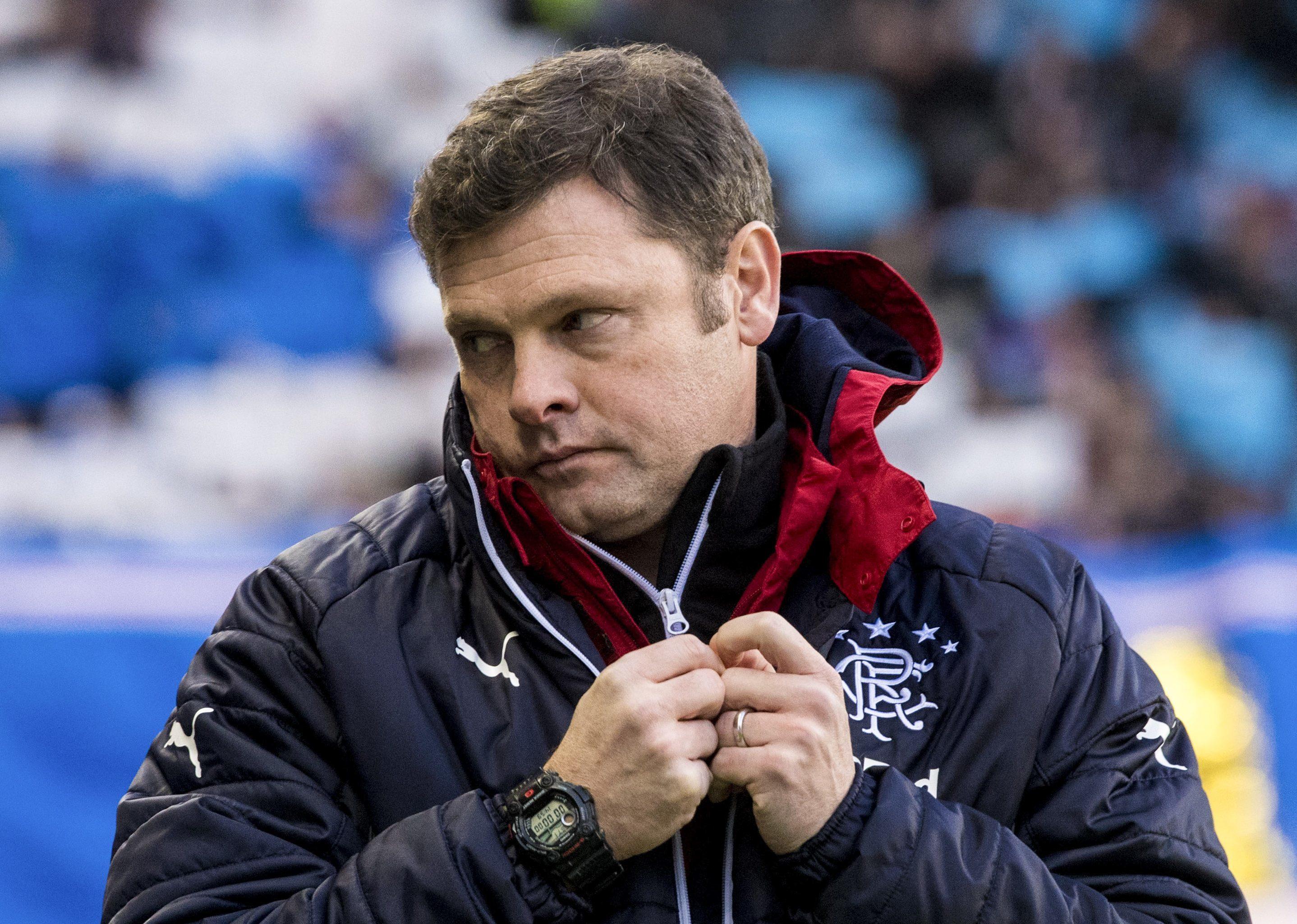 Rangers manager Graeme Murty (SNS)