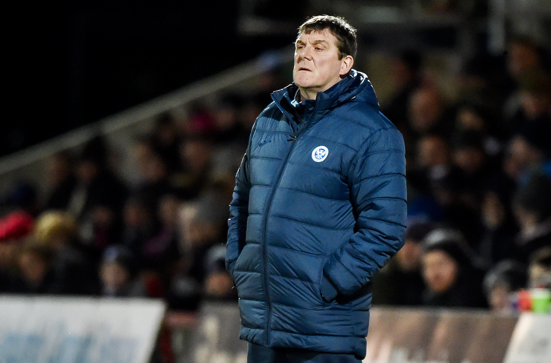 St Johnstone manager Tommy Wright (SNS Group / Bill Murray)