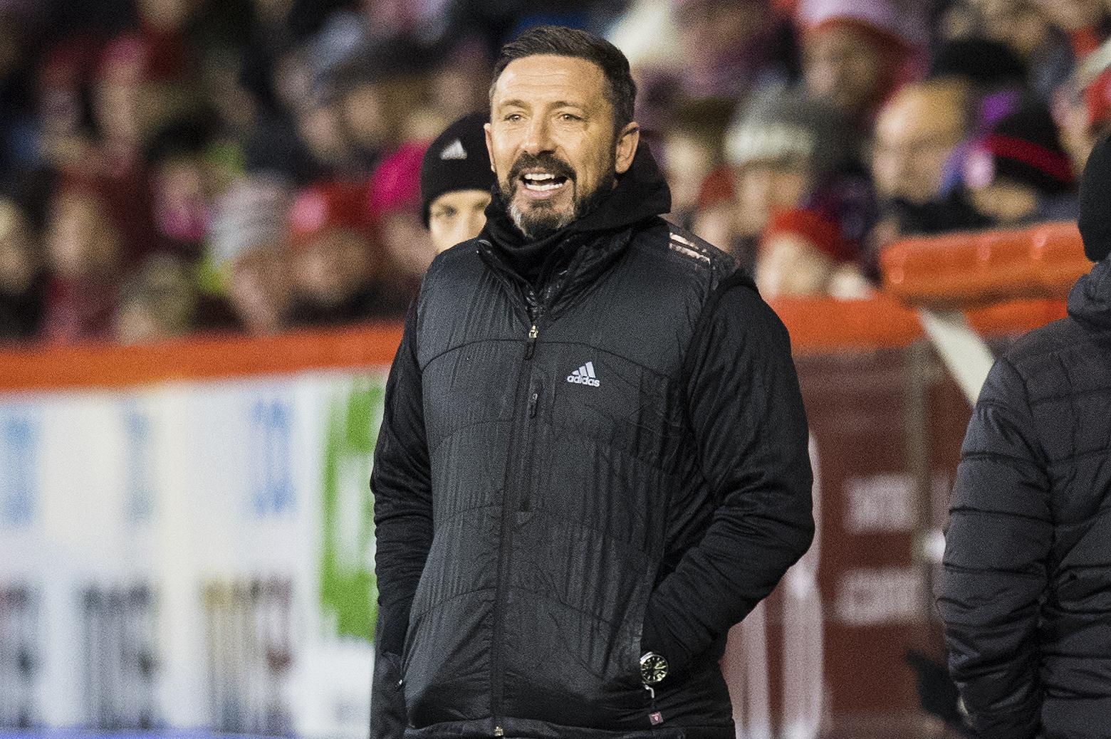 Aberdeen manager Derek McInnes (SNS Group / Ross Parker)
