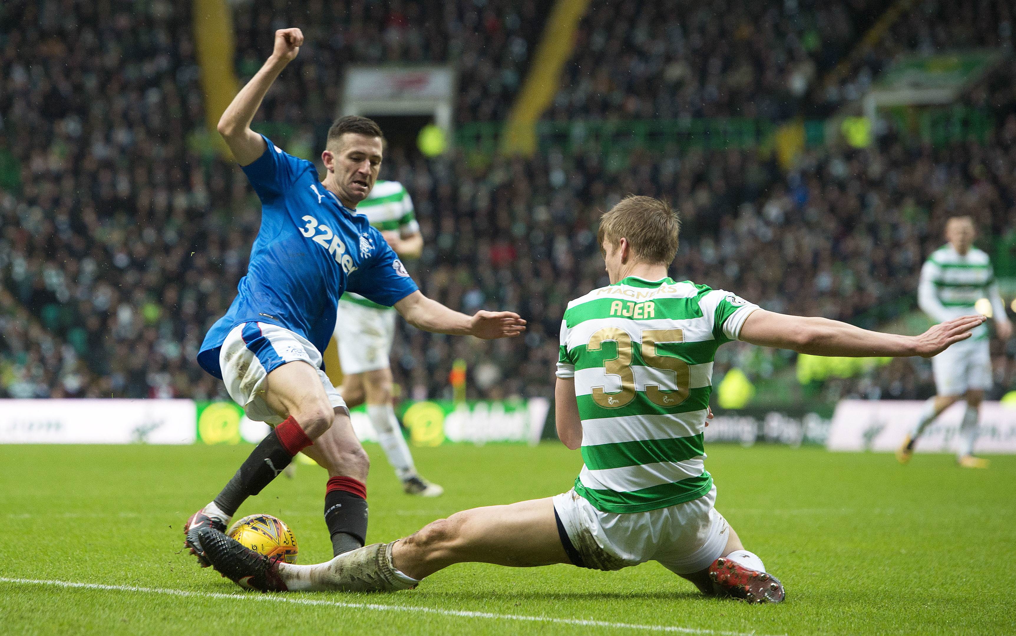 Celtic play Rangers on April 29 (SNS Group)