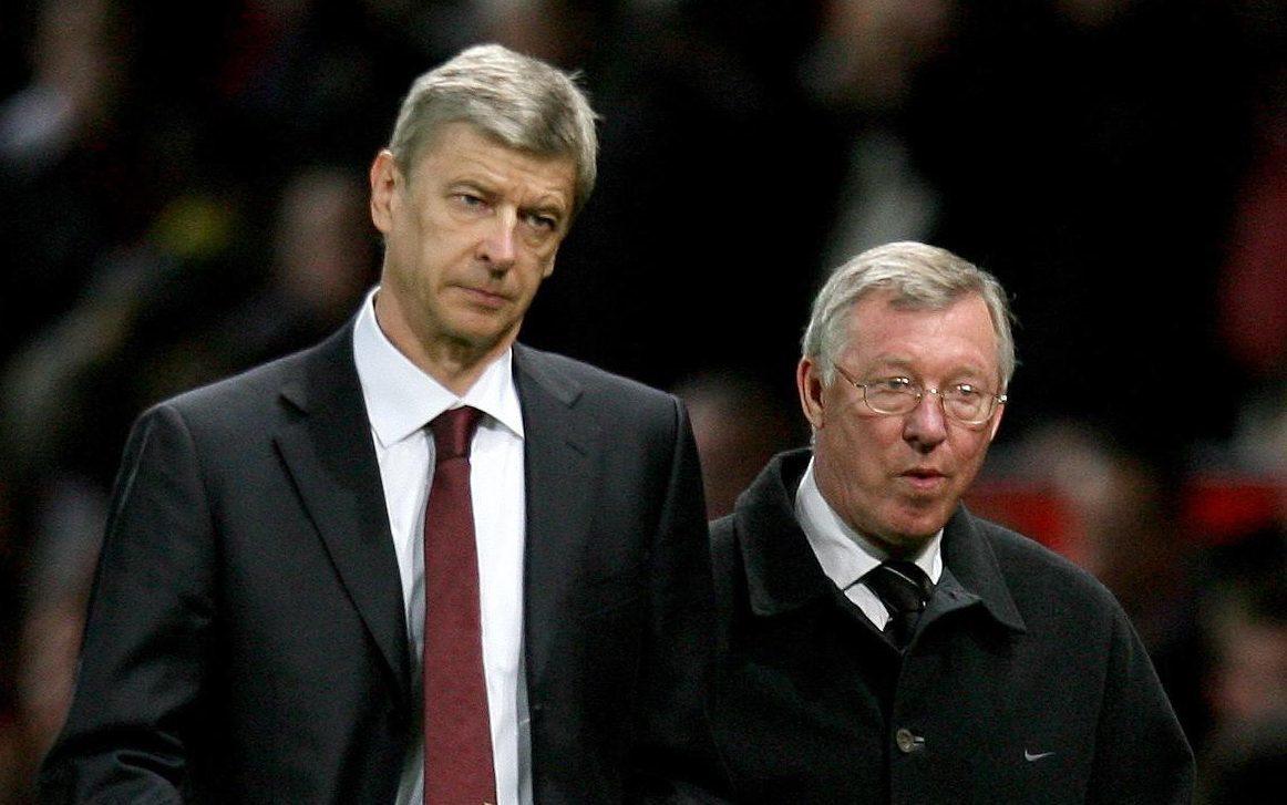 Arsene Wenger (left) and Manchester United manager Sir Alex Ferguson, 2009 (Martin Rickett/PA Wire)