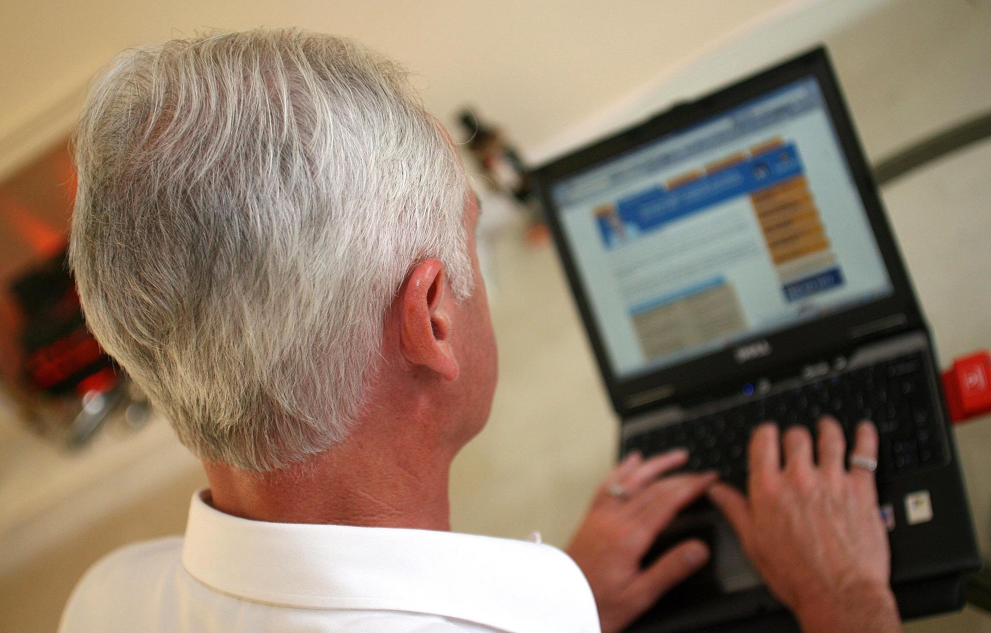 Jason Axford, one of Care UK's lead experts on older people's wellbeing, has said that encouraging the older generation to use Skype, FaceTime and Netflix can make them more involved at Christmas and beyond for (Peter Byrne/PA Wire)
