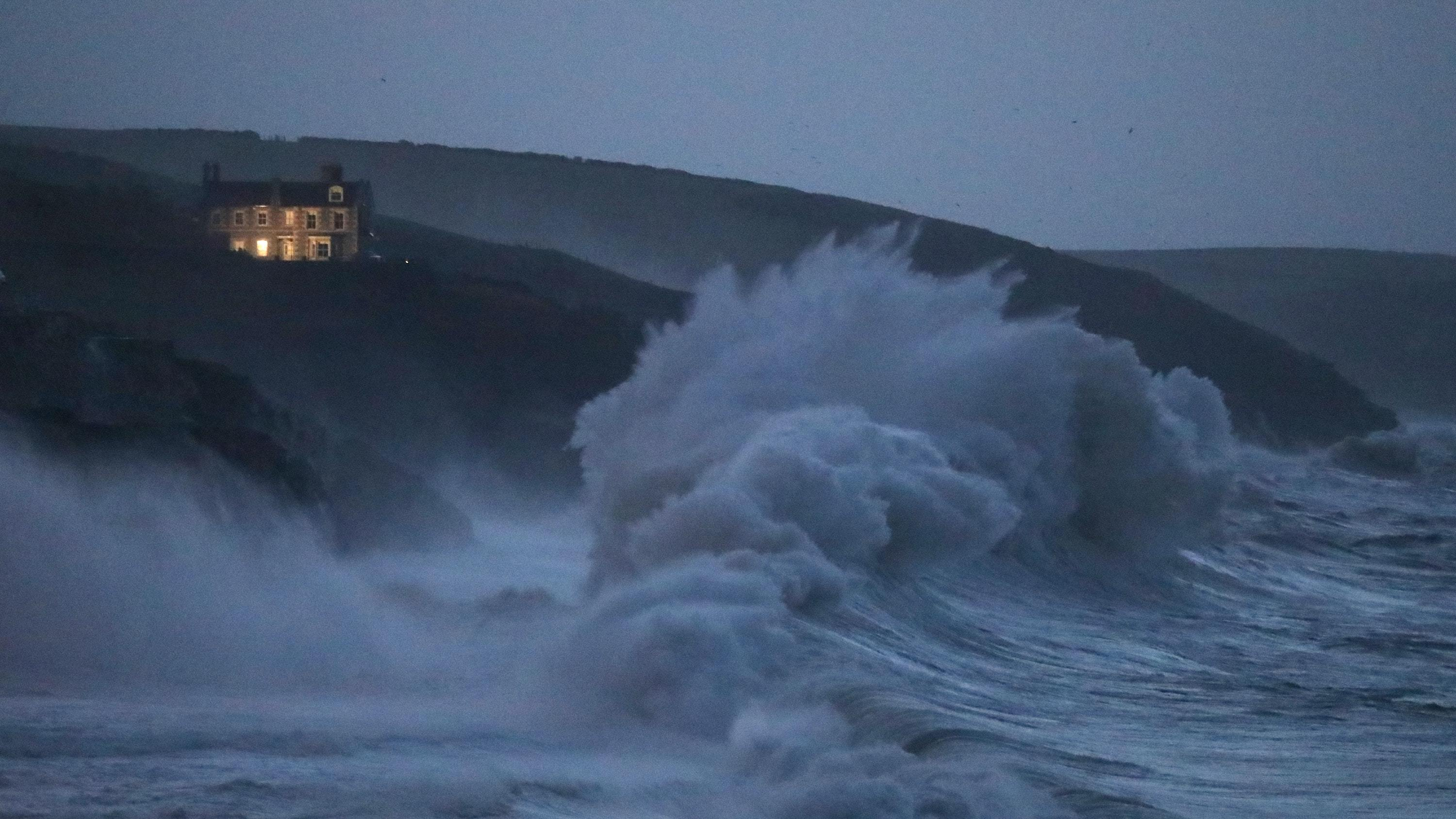 Storm Caroline is expected to bring gusts of up to 80mph in northern Scotland (PA)