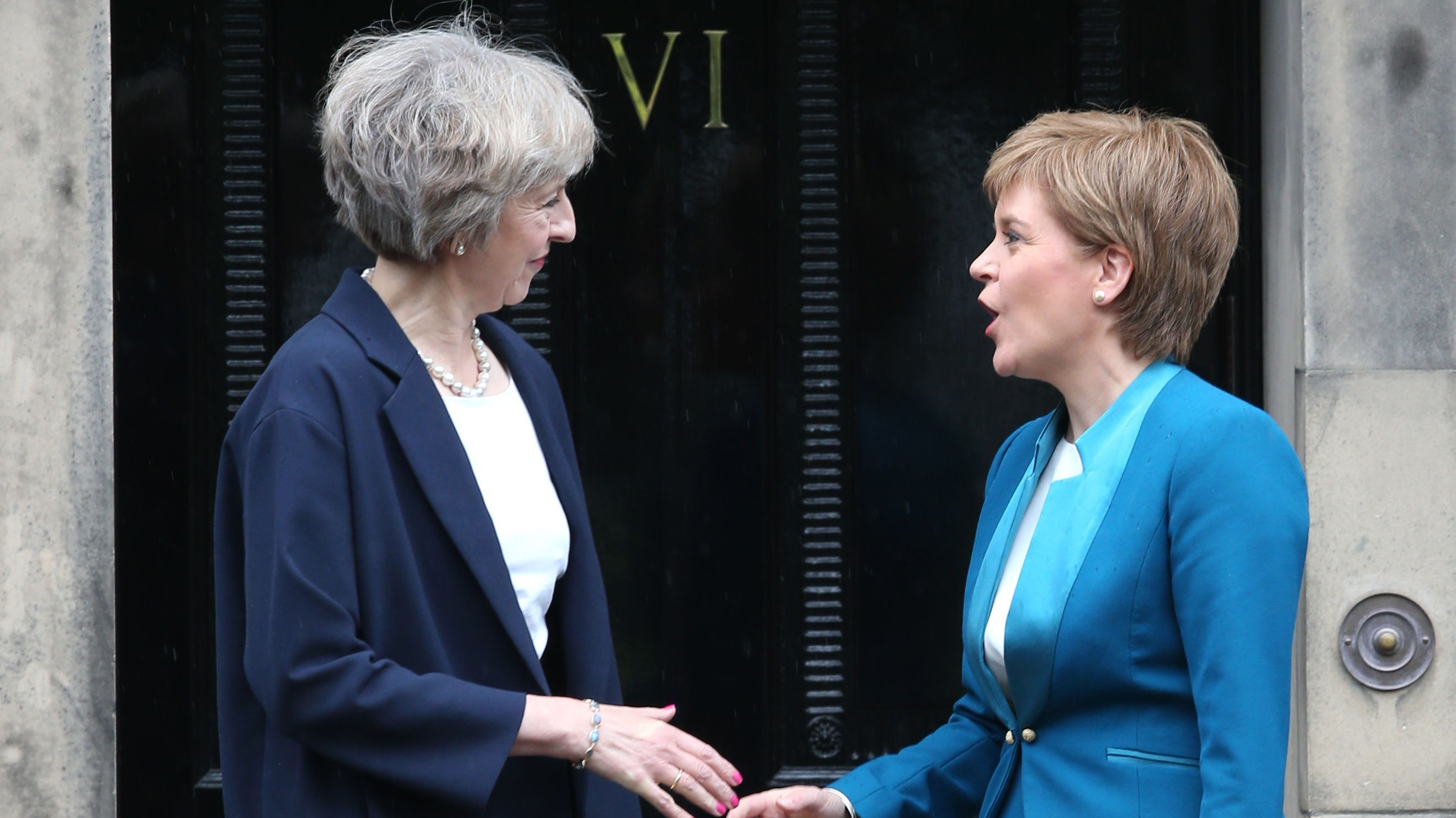 Nicola Sturgeon said Theresa May should agree to a transition period inside the single market and customs union (PA)