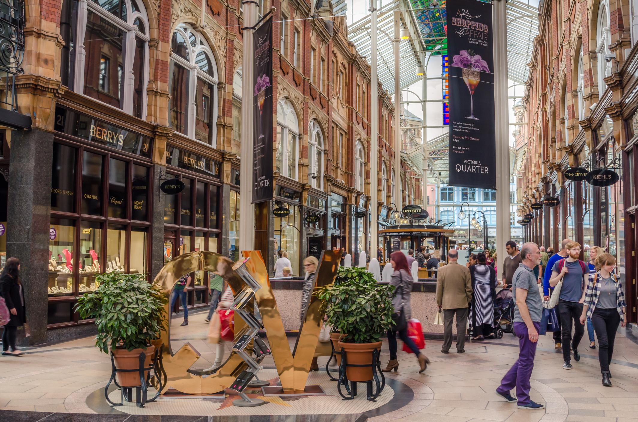 The, Victoria Quarter, Leeds (iStock)