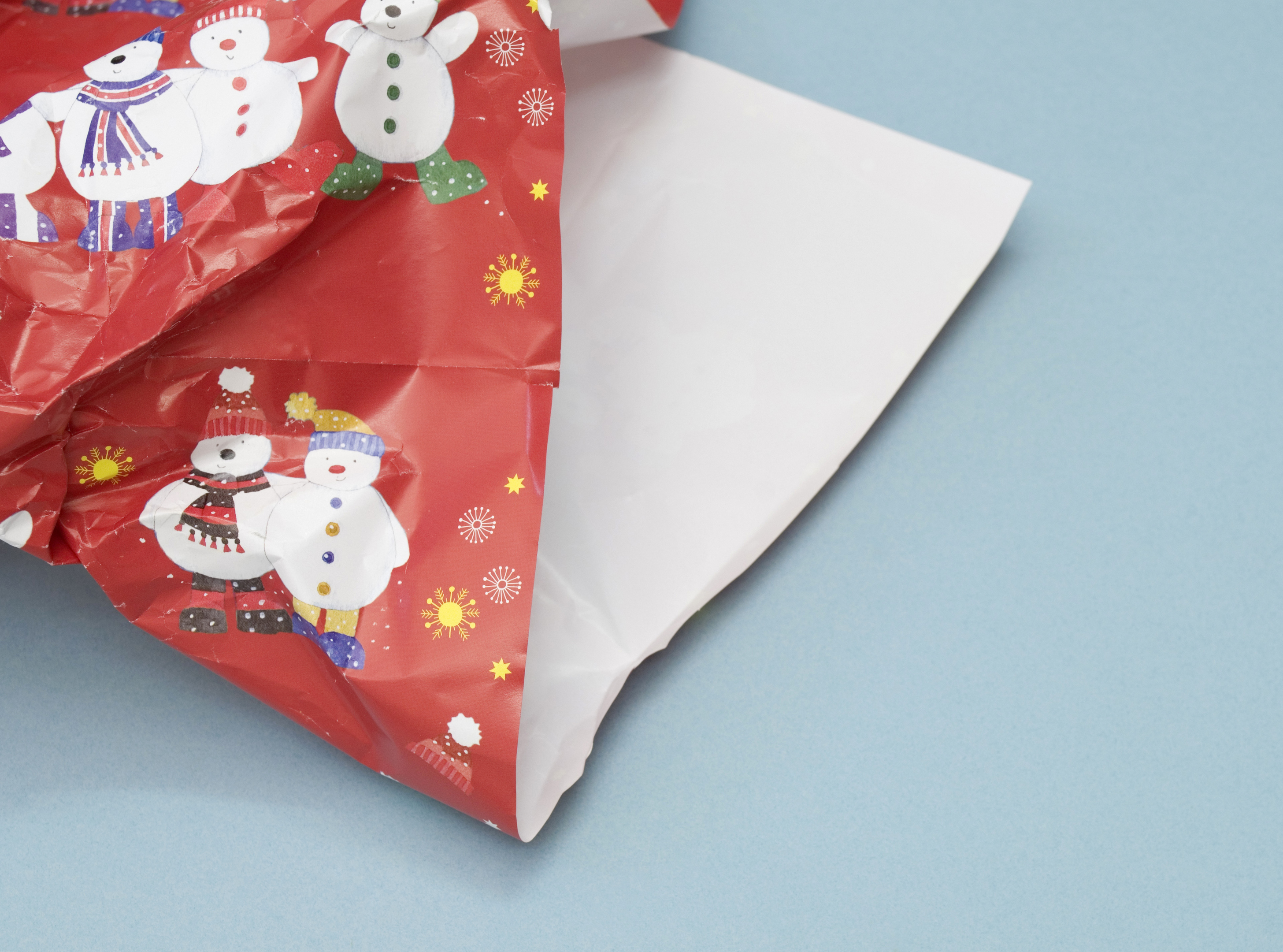 Discarded Christmas present paper (iStock)