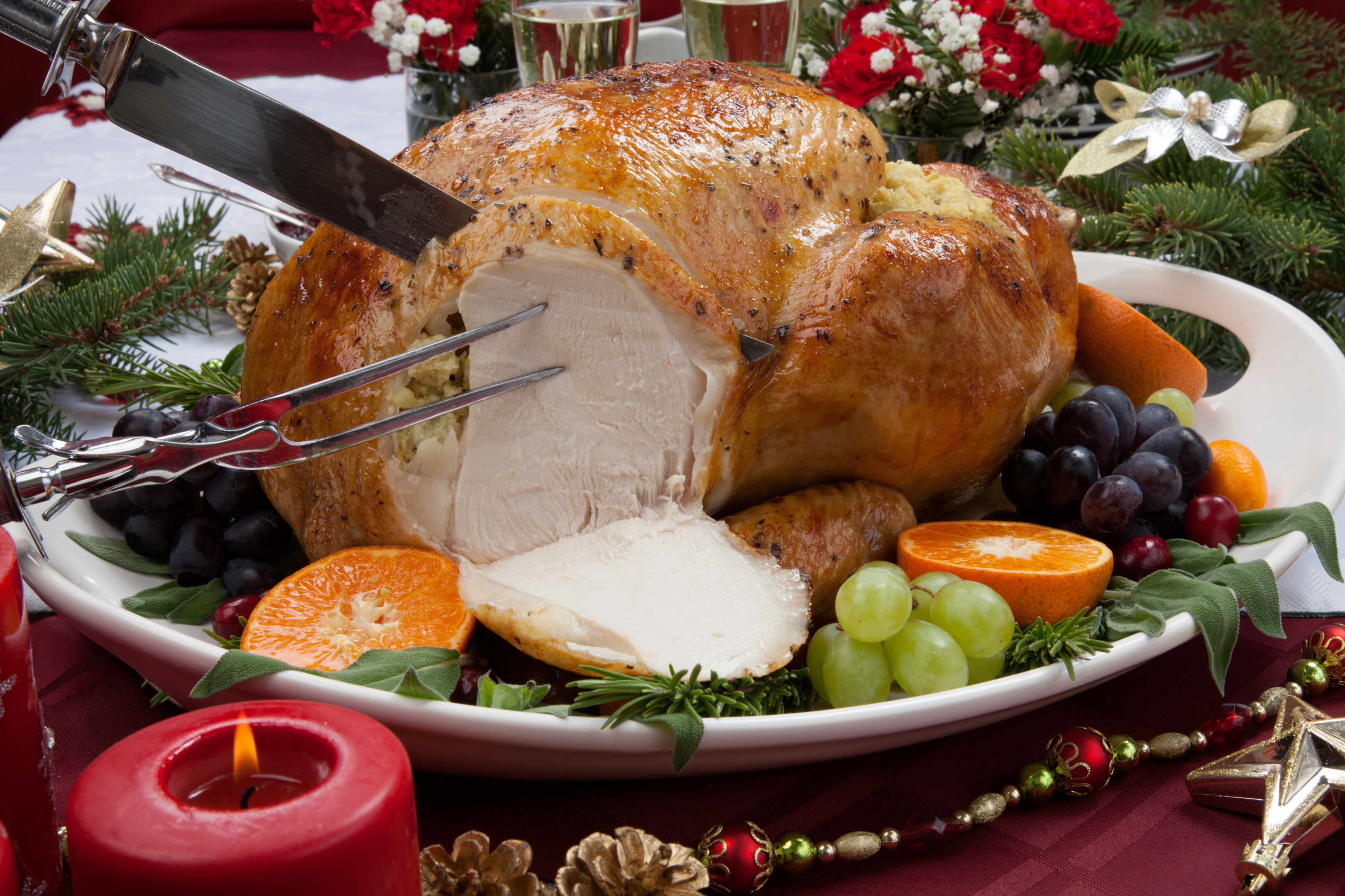 The turkey feast at Bob Cratchit's house in A Christmas Carol features on Stuart MacBride's list (iStock)