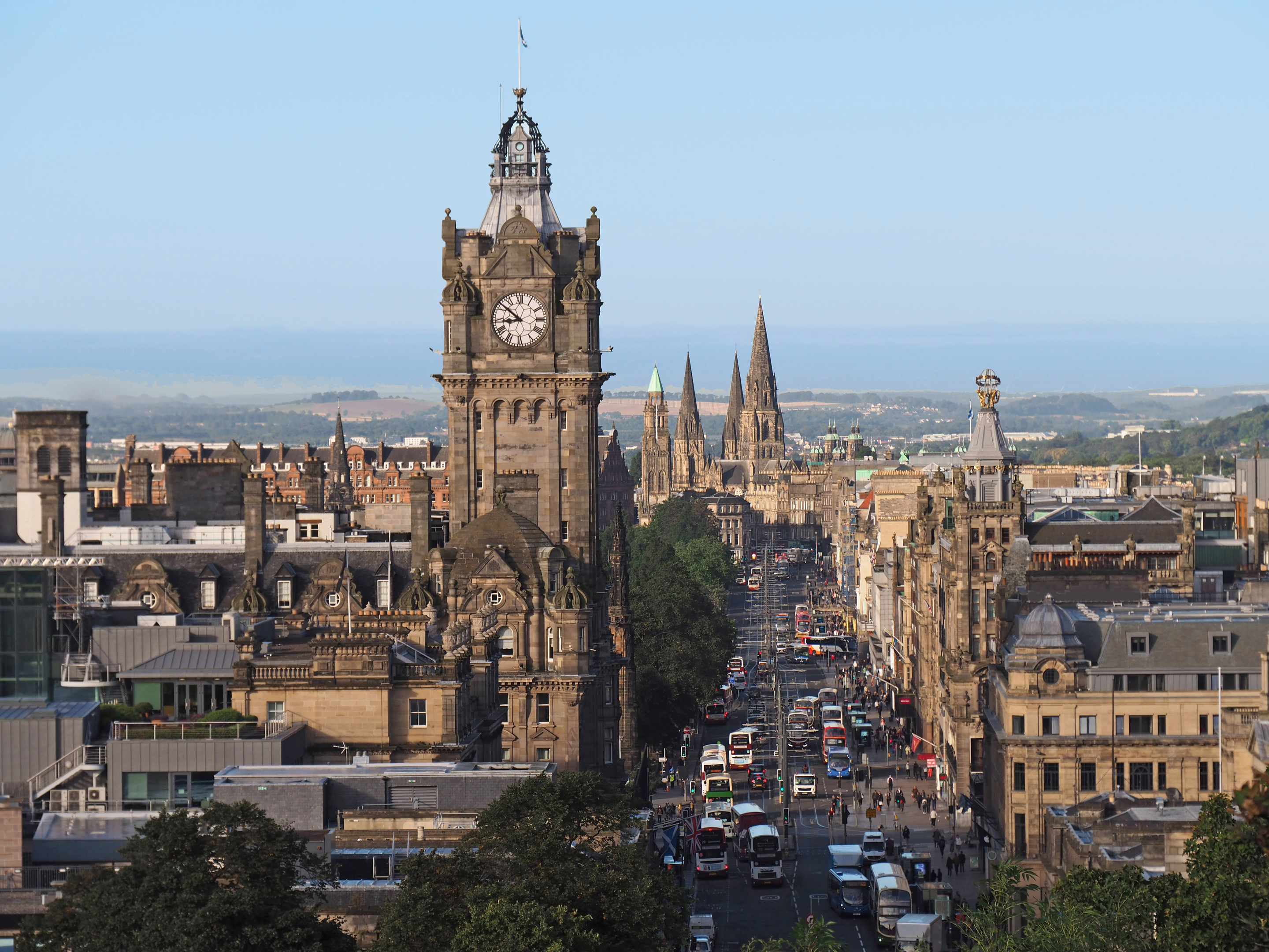 Edinburgh was described by the restaurant guide as 'unrivalled outside London' (iStock)