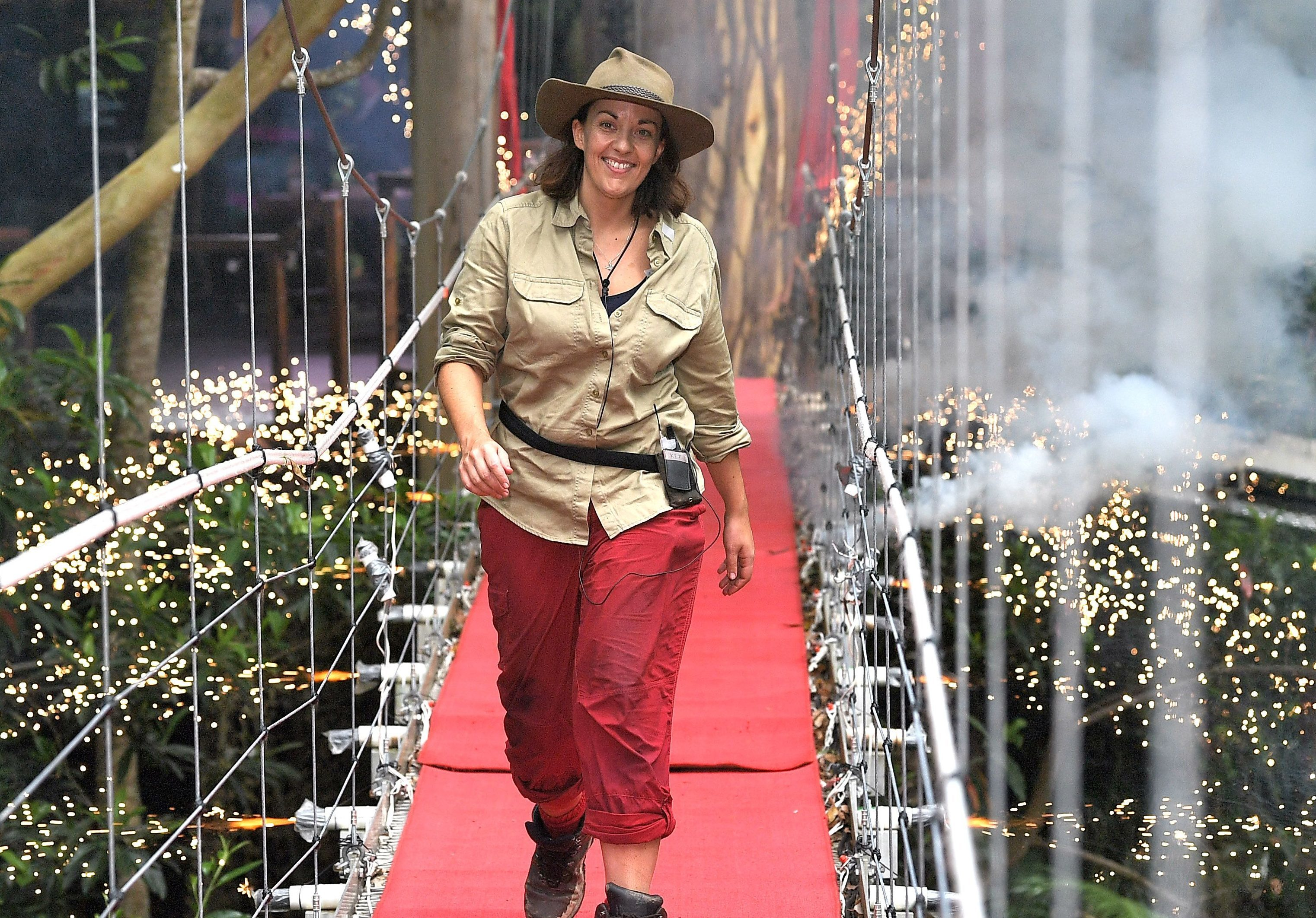 Kezia Dugdale is evicted 'I'm a Celebrity... Get Me Out of Here! (James Gourley/REX/Shutterstock)