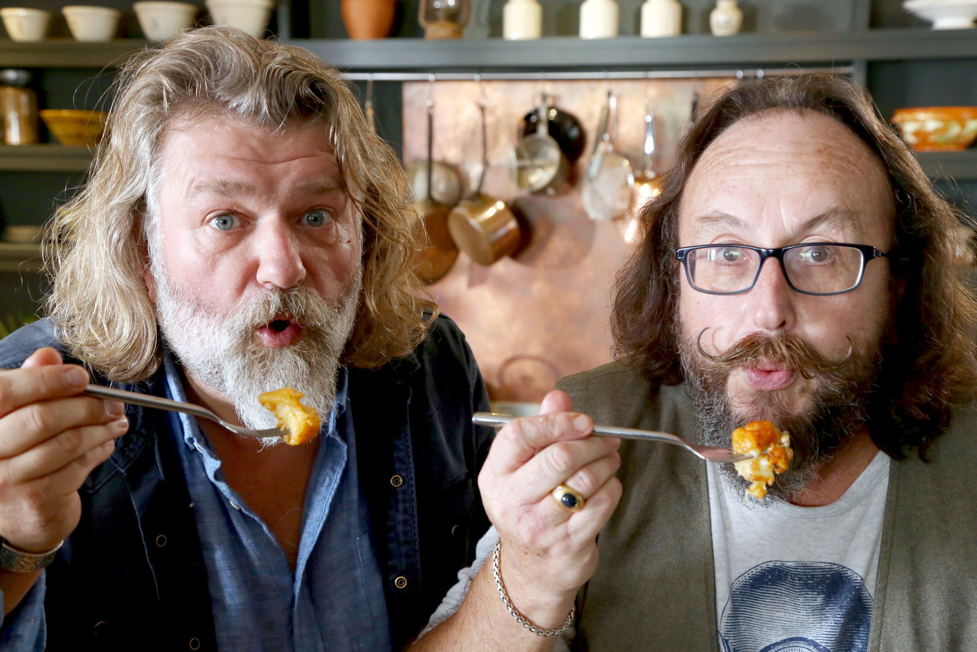 Hairy Bikers Si King and Dave Myers have some delicious curry recipes (Hungry Gap Productions)