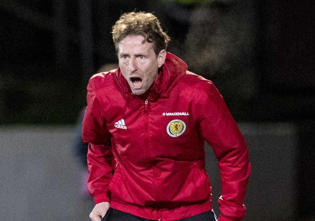 Scotland U21 head coach Scot Gemmill (SNS)