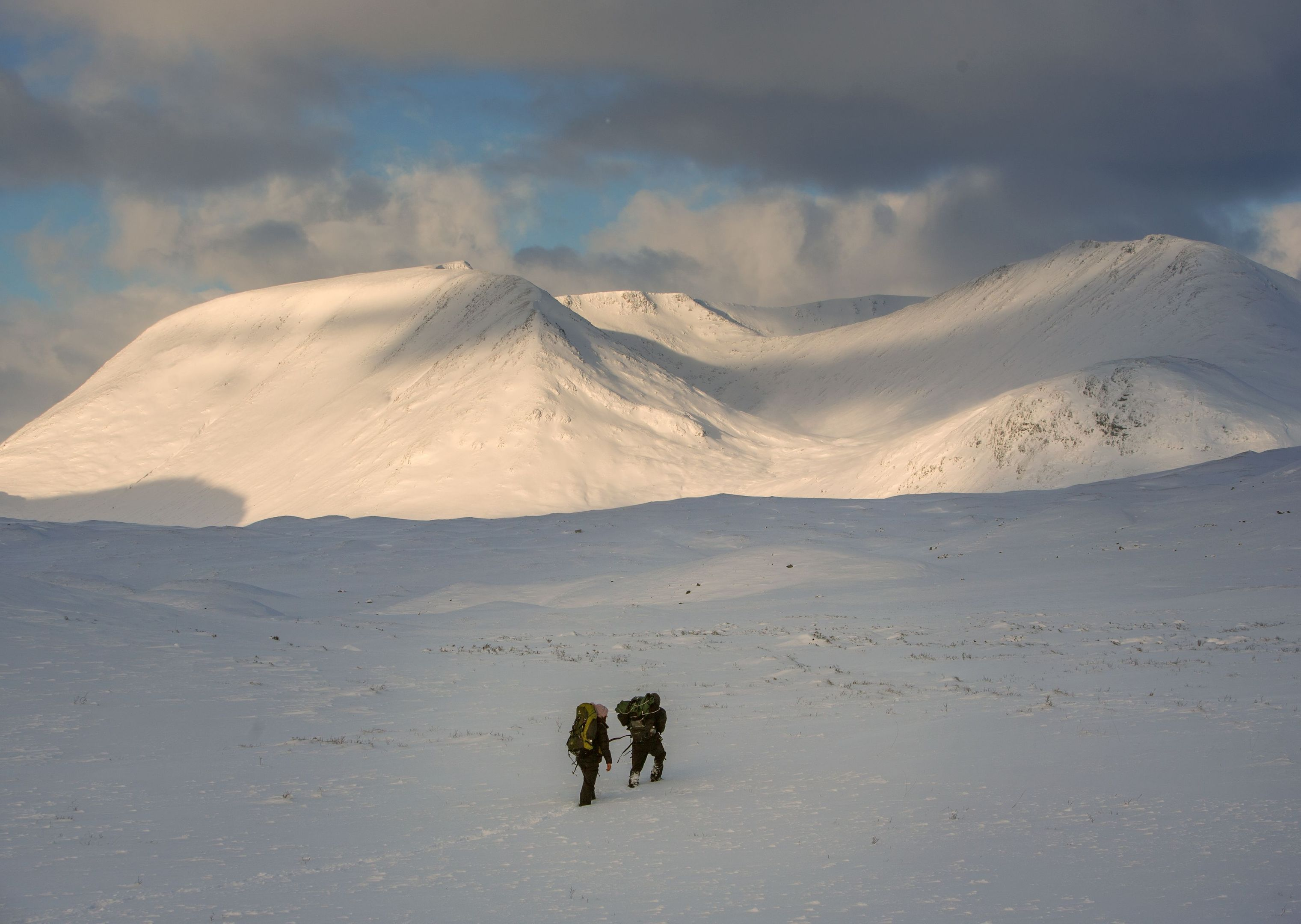 Snow at Glencoe (Danny Lawson / PA Wire)