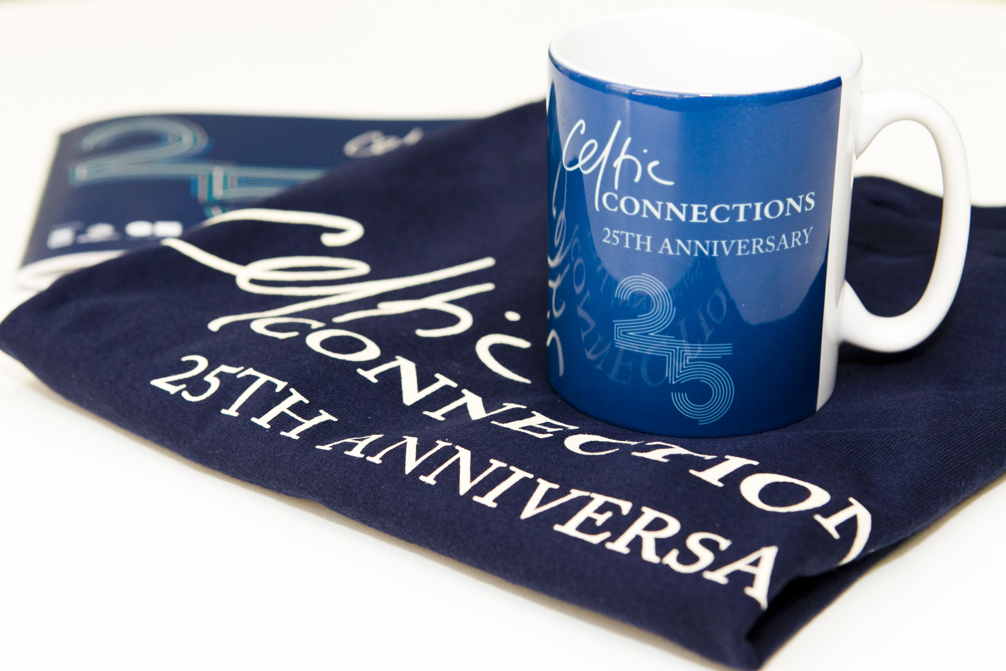 Celtic Connections music festival merchandise (Andrew Cawley / DC Thomson)