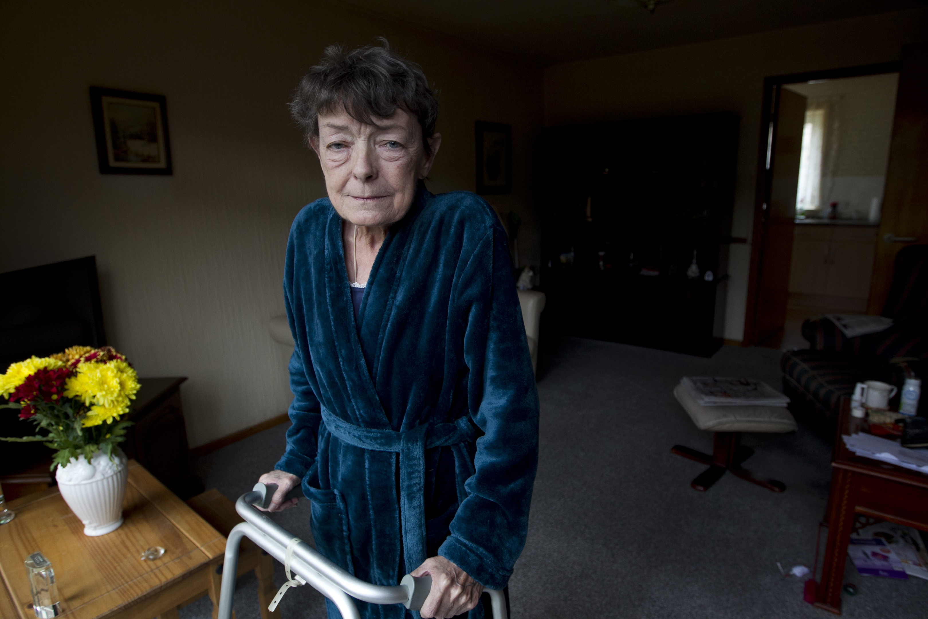 May Roberts, who lives alone, and relies on the Food Train service (Andrew Cawley / DC Thomson)