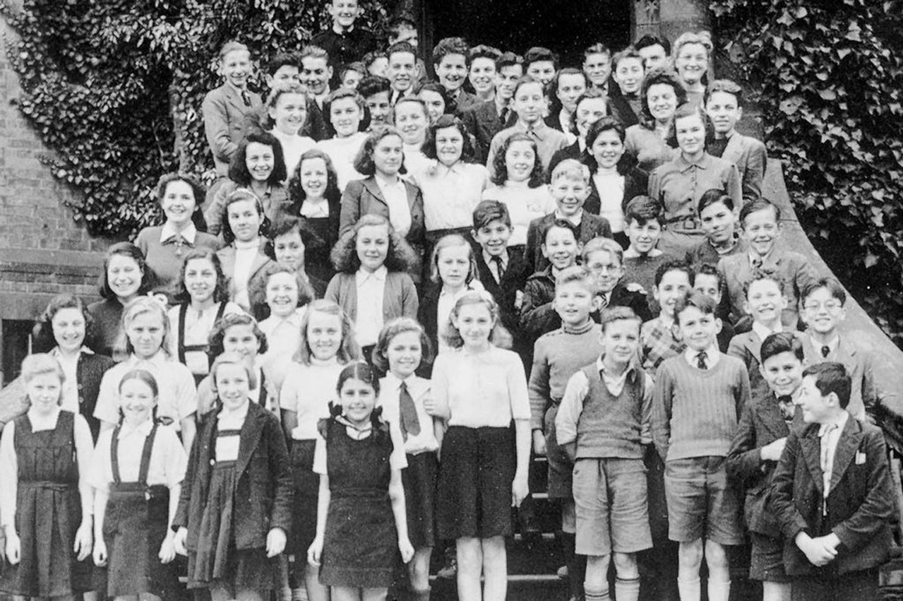 """Some of the many children saved by """"Britain's Schindler"""" Sir Nicholas Winton in the 1930s"""