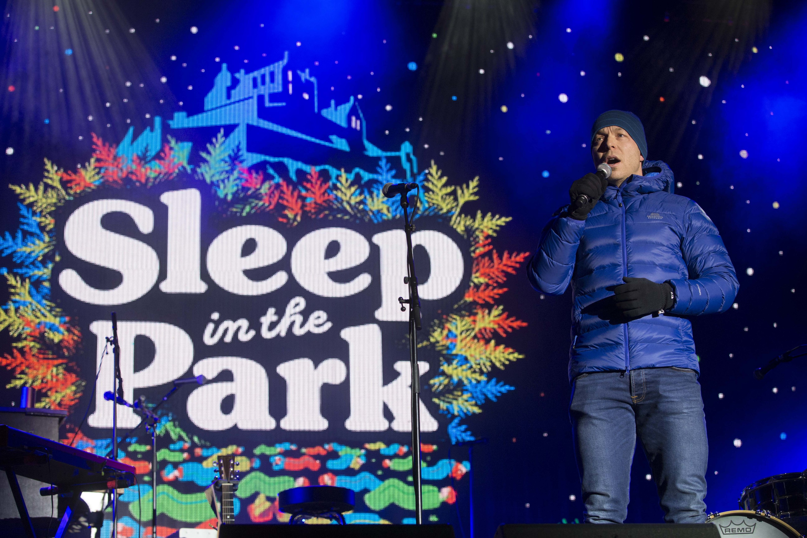 The Sleep in the Park event took place last year (Jeff Holmes / JSHPix,co)