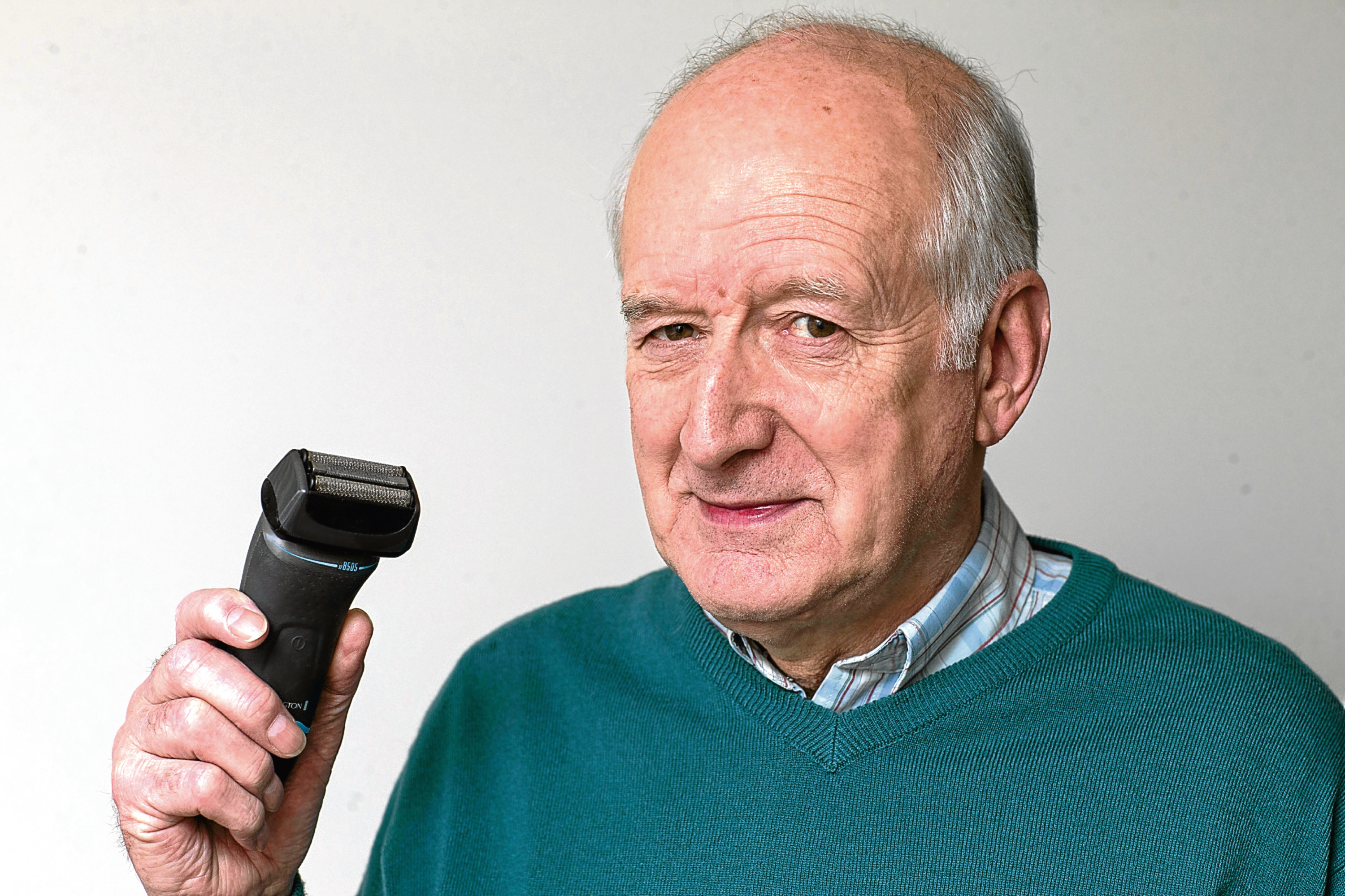 Bill Moir from Westhill bought an Remington electric shaver and had a problem getting replacement parts (Derek Ironside / Newsline Media)