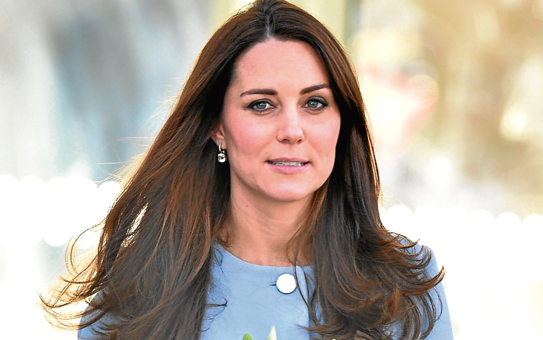 Analysts reckon Kate looks best in cool-blue tints, as it makes her complexion look even-toned (James Warren / PhotoBeat Images)