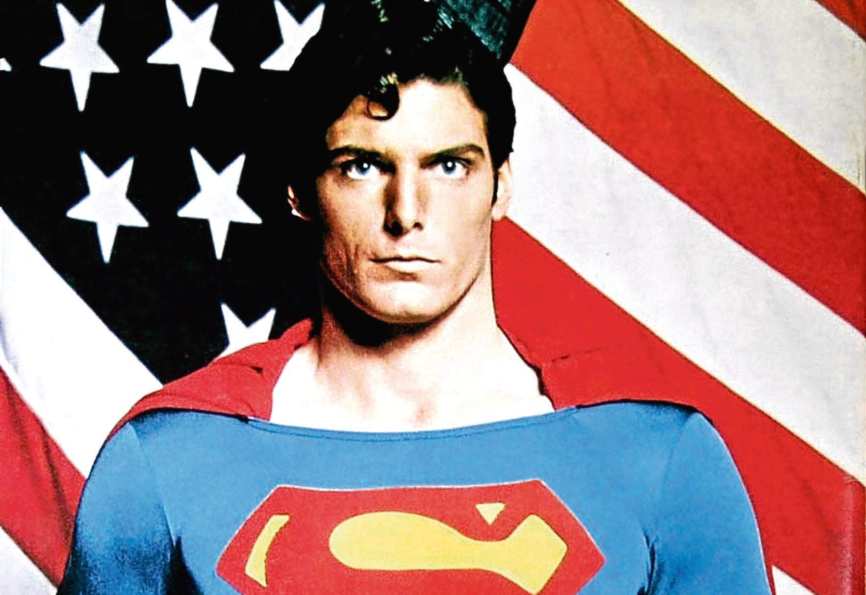 Christopher Reeve in the 1978 film Superman  (Allstar/WARNER BROS.)