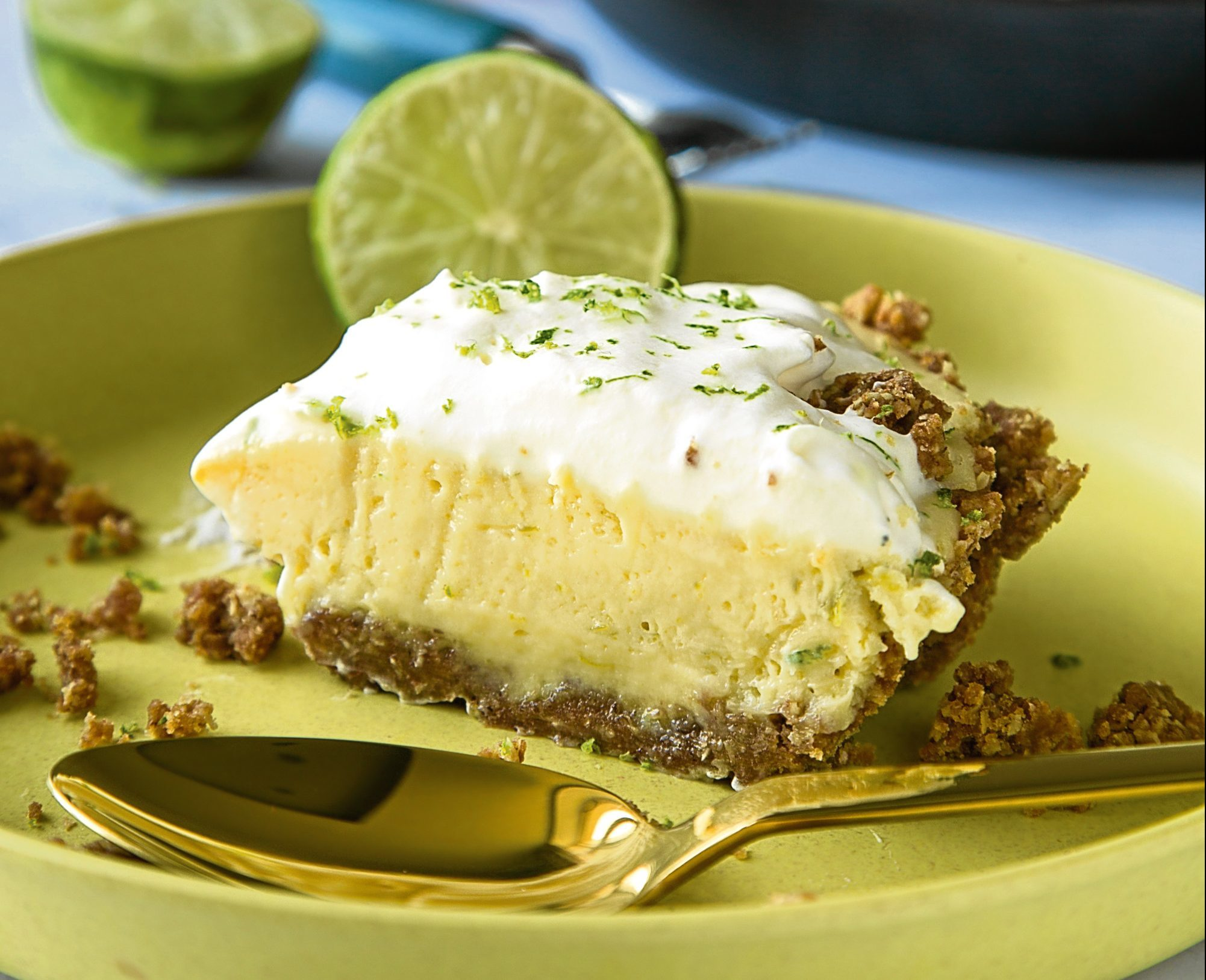 Key Lime Pie from Simply Simon's - The Diner Cookbook (Sean Cahill)