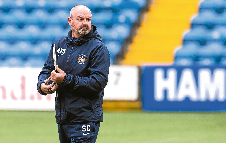 Kilmarnock manager Steve Clarke (SNS)