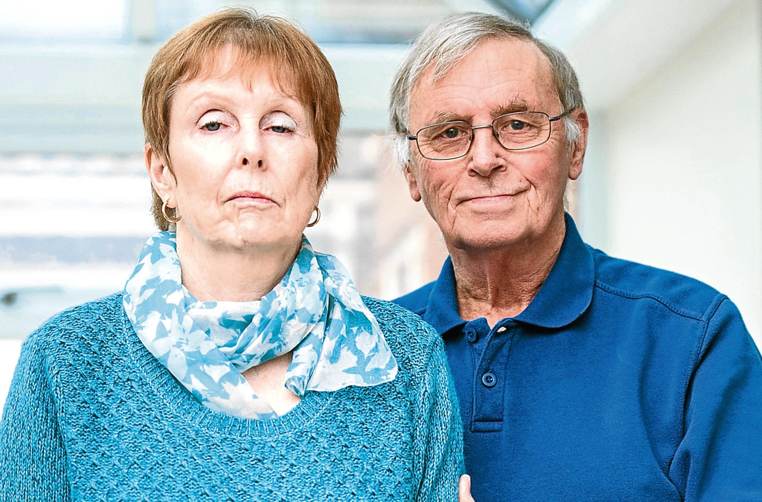 June Leap and her husband Les. (Mercury Press)
