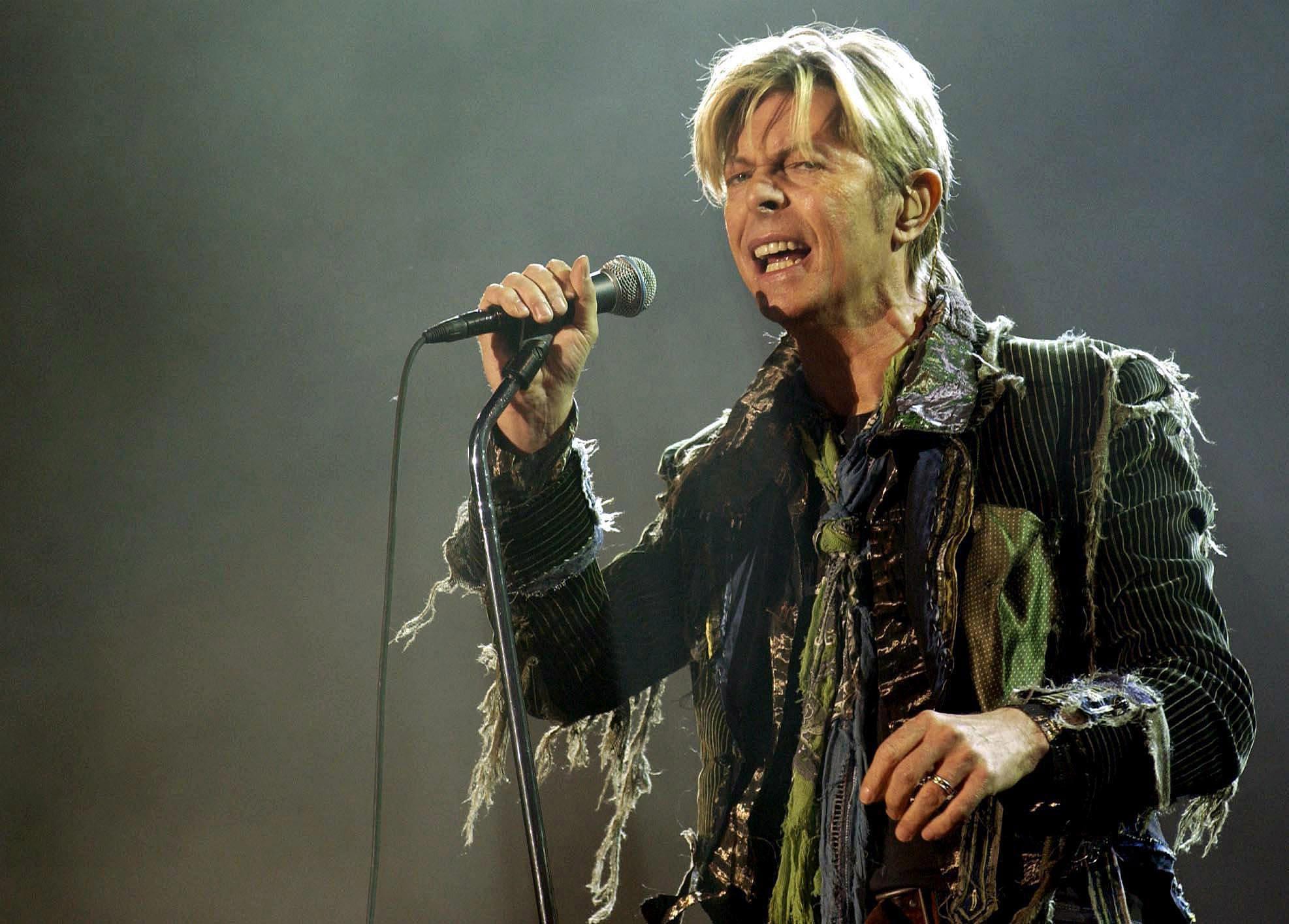 David Bowie (Yui Mok/PA Wire)