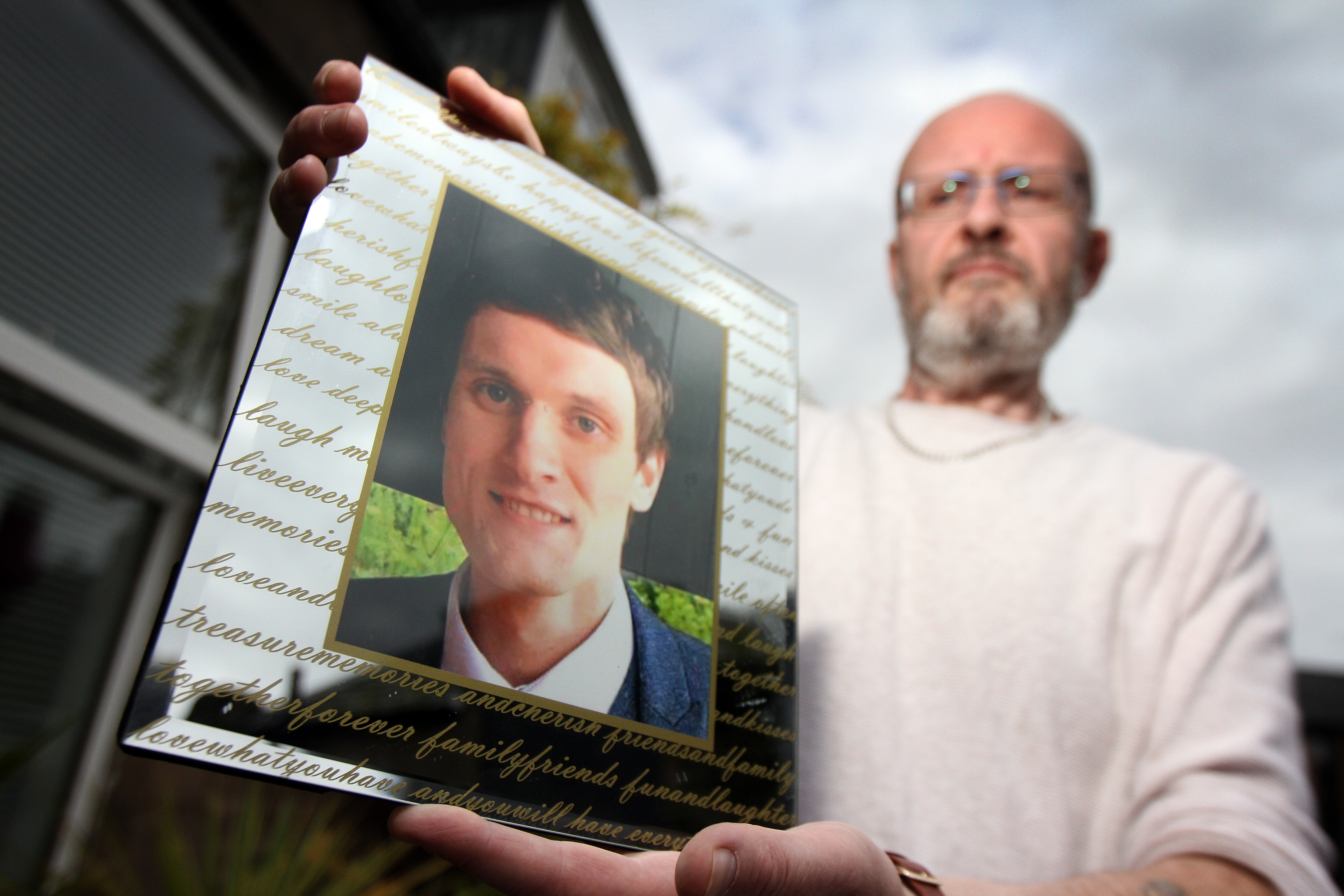 Phil Welsh said few people knew his son Lee had mental health issues (Kris Miller / DC Thomson)