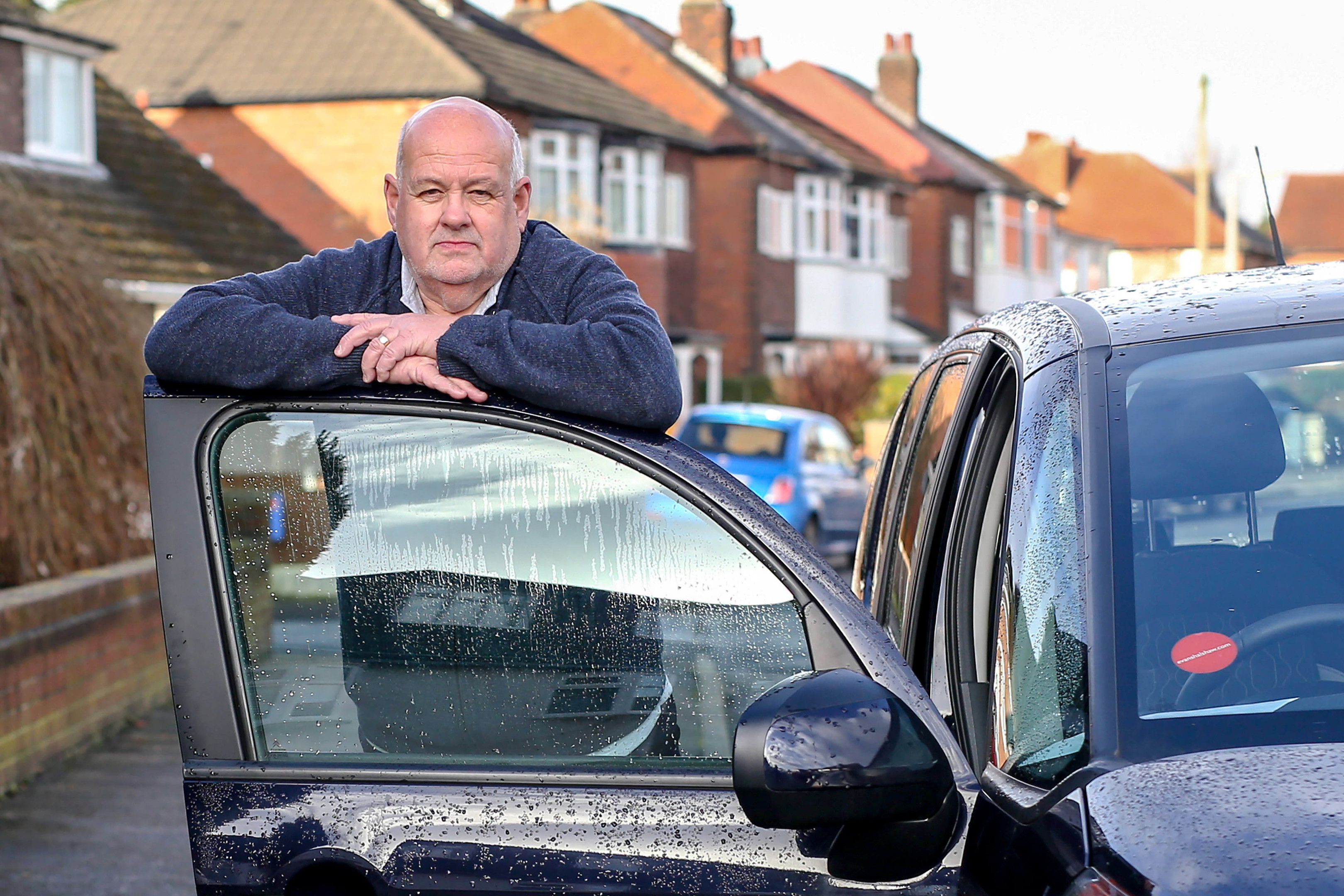 Ian Butterworth, from Stockport, was forced to pay for car insurance when he booked to hire a car in the UK and then again when he picked the car up at the airport in Alicante. (Jacob King/Mercury Press)