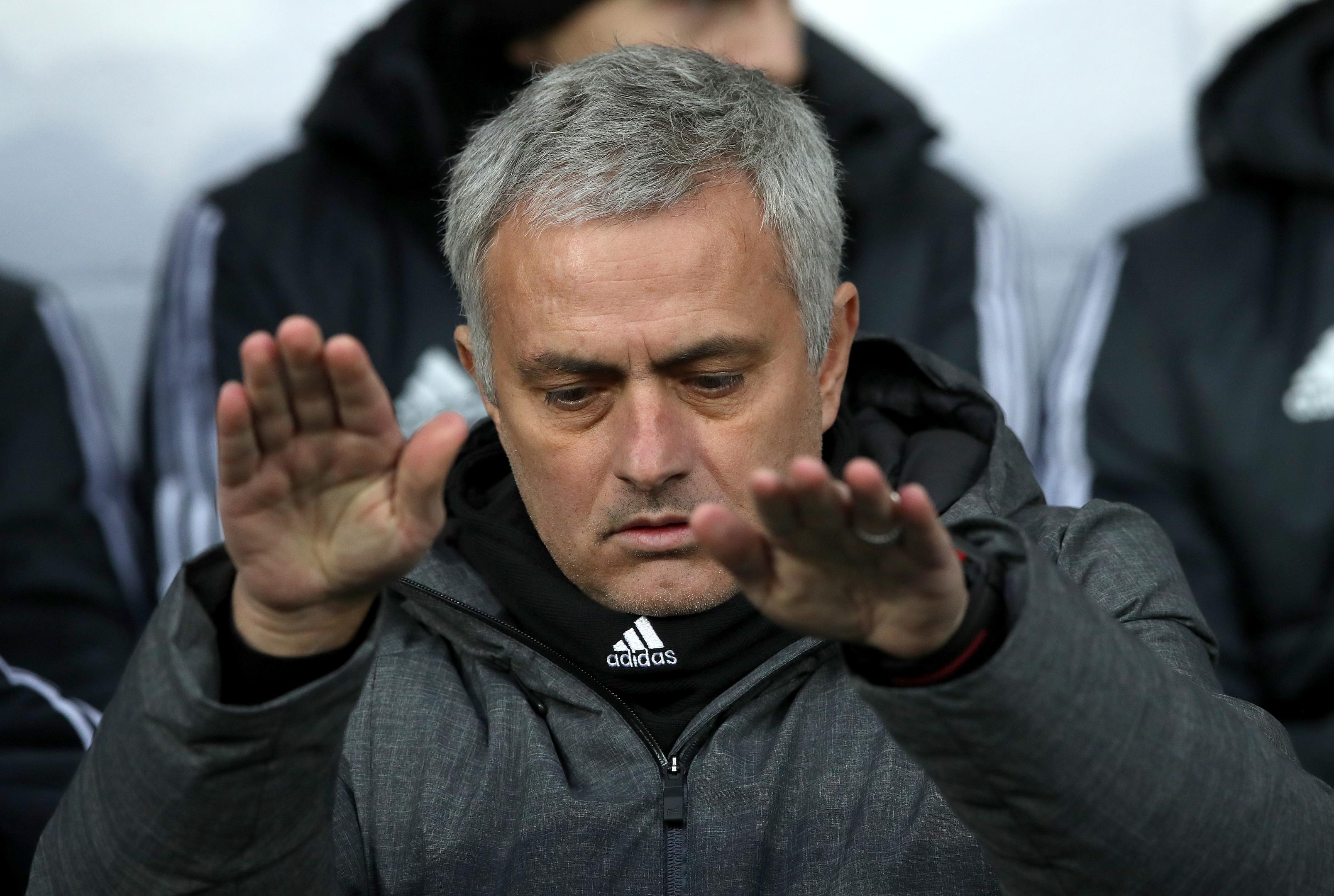 Manchester United manager Jose Mourinho (PA)