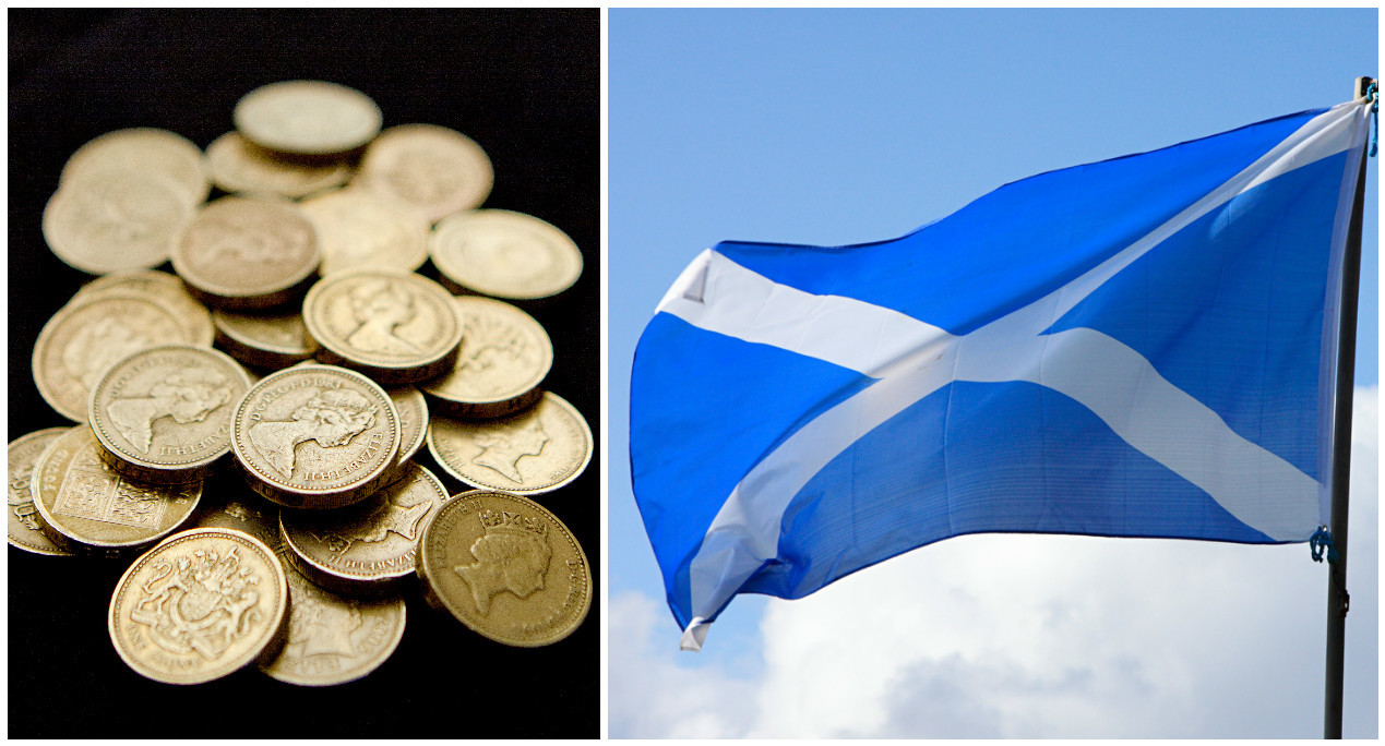 A new poll has found that Scots want to keep the pound after independence