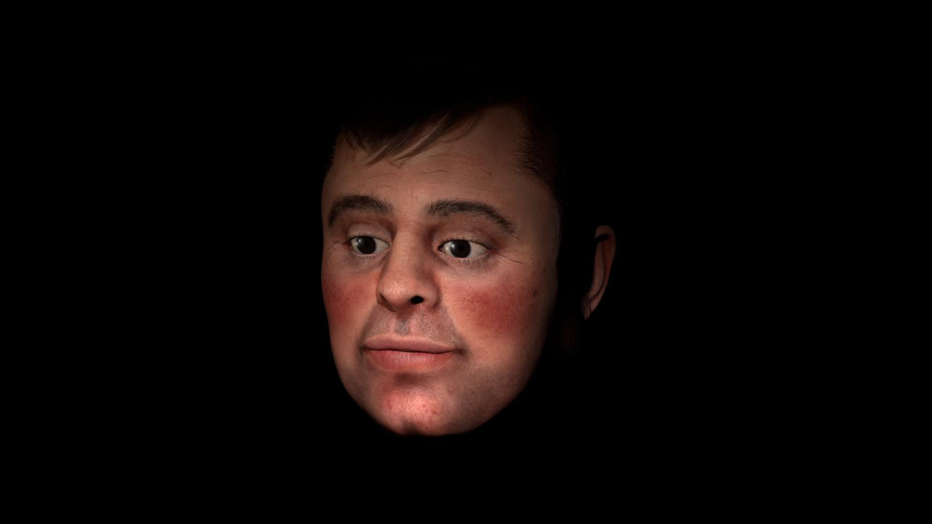 Robert Burns (LJMU Face Lab/University of Dundee/DI4D/PA)