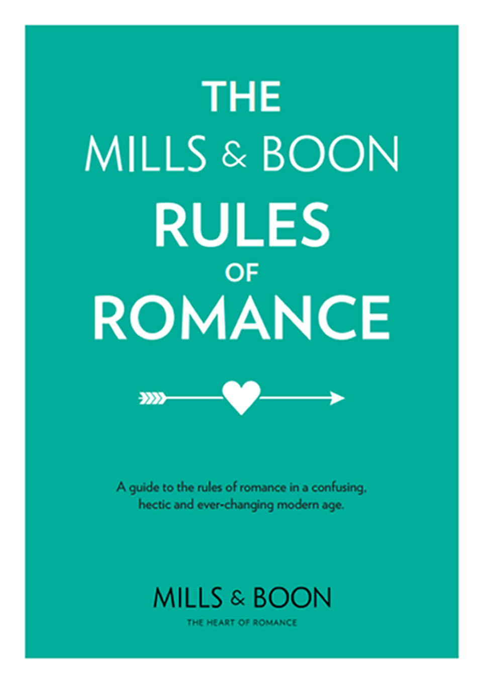 "The Mills and Boon guide  to romance in the ""digital age"". (Mills and Boon/PA Wire)"