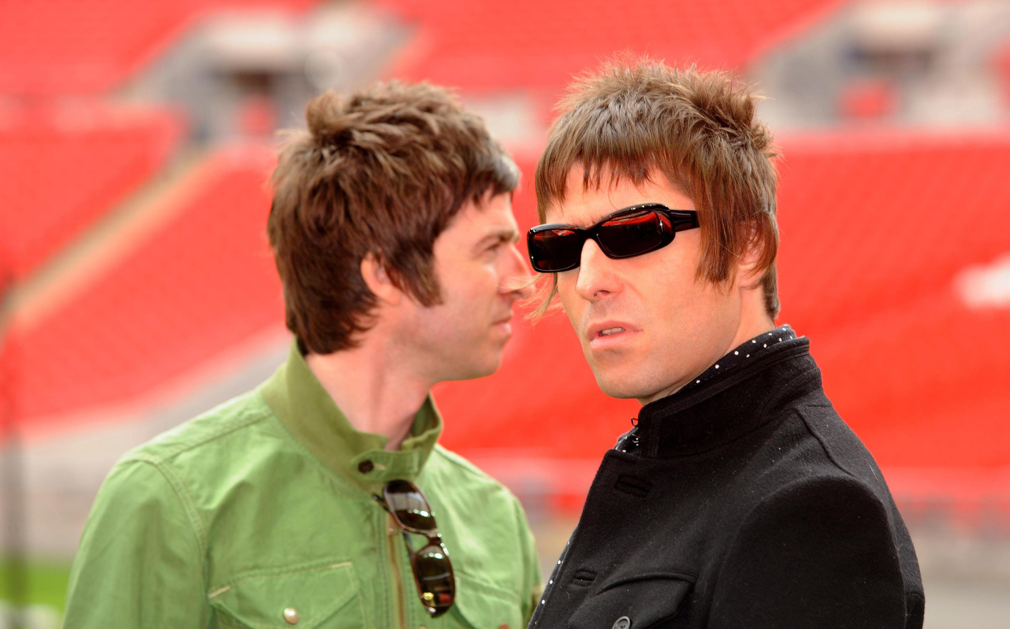 Noel (left) and Liam Gallagher (Zak Hussein/PA Wire)