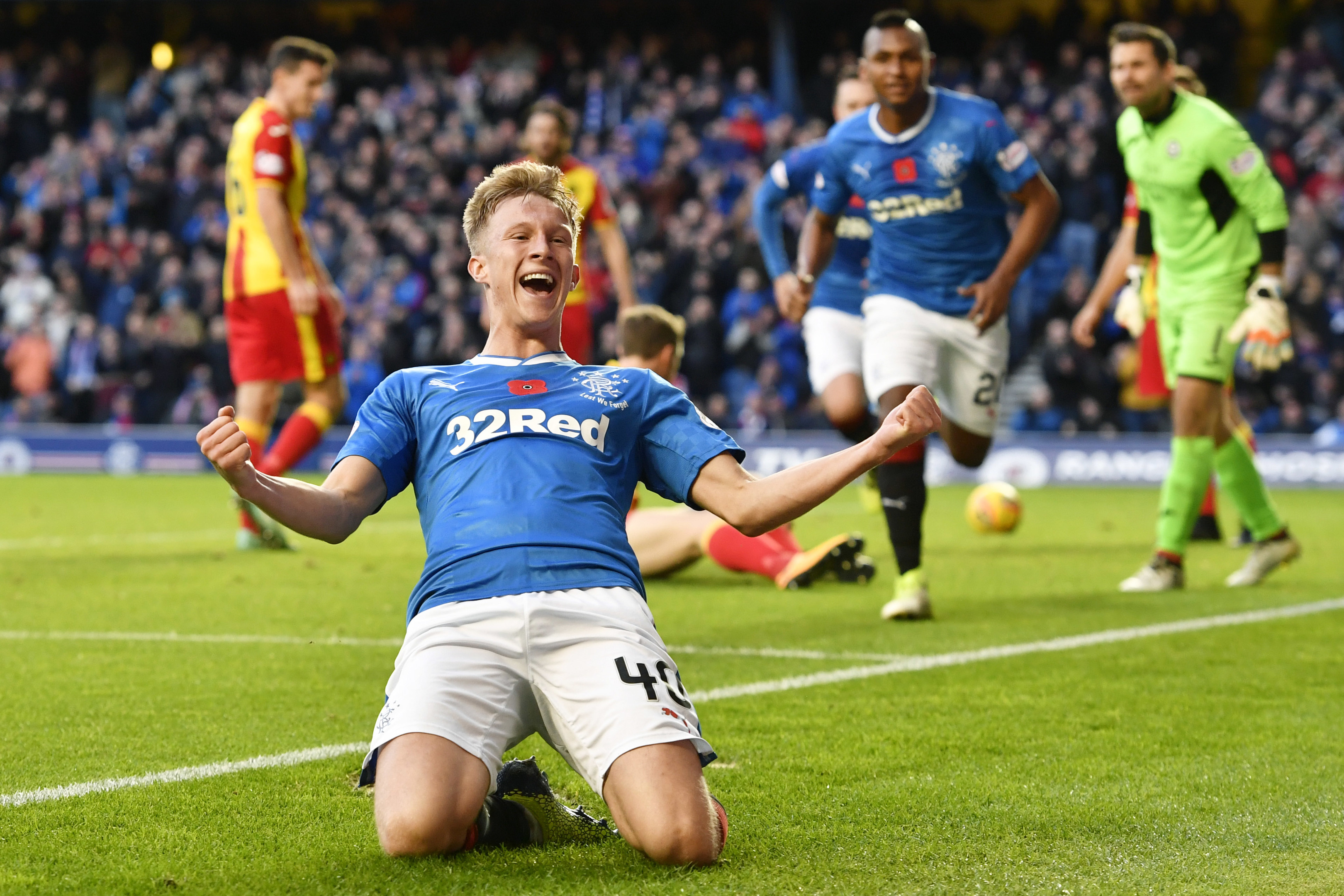 Rangers youngster Ross McCrorie (SNS Group)