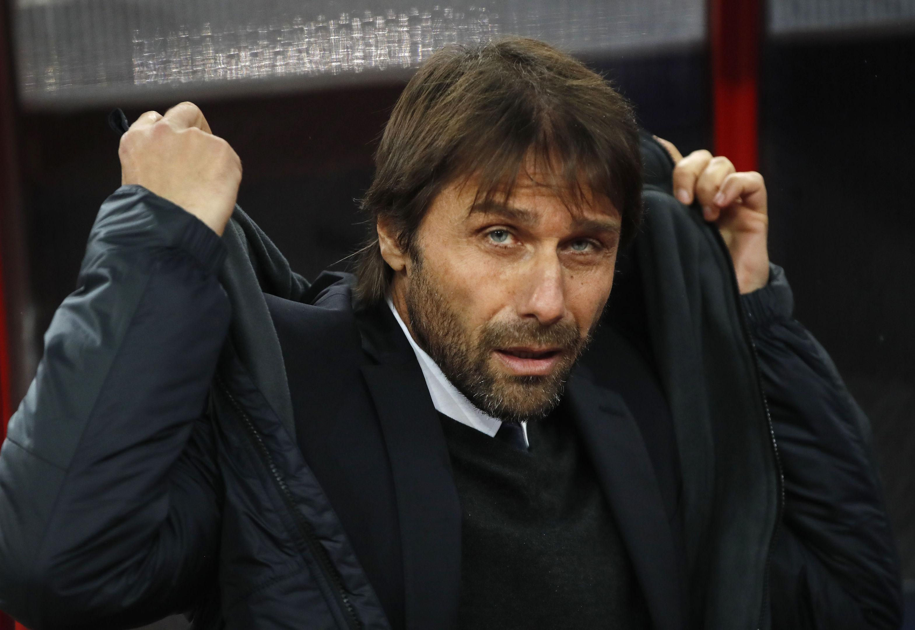 Chelsea head coach Antonio Conte (AP Photo/Pavel Golovkin)