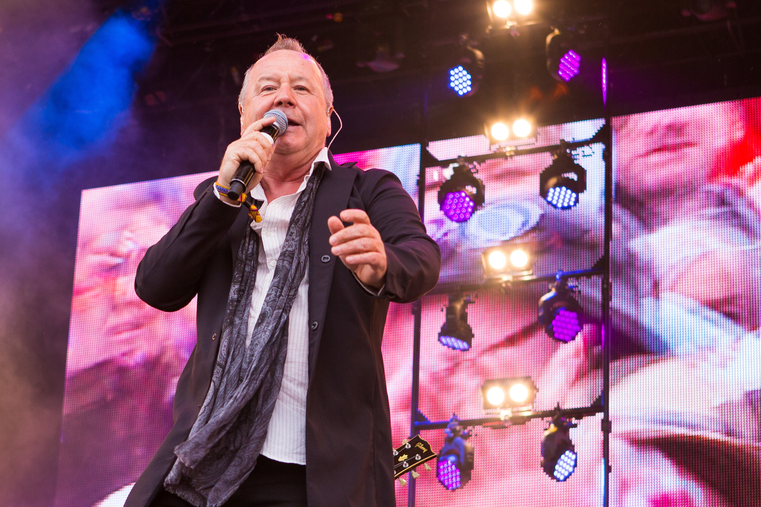 Simple Minds very own Jim Kerr