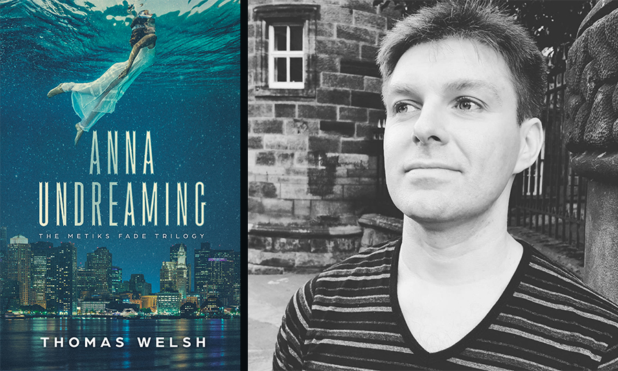 Author Thomas Welsh is releasing his debut novel in March
