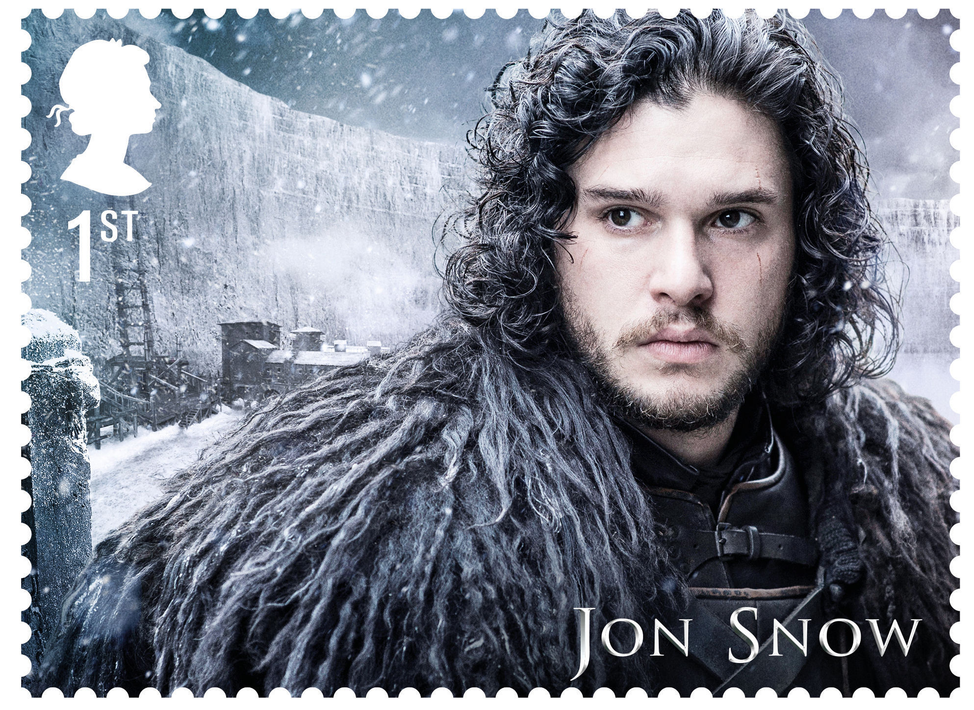 The Game Of Thrones stamps will be available from January 23 (Royal Mail/PA)