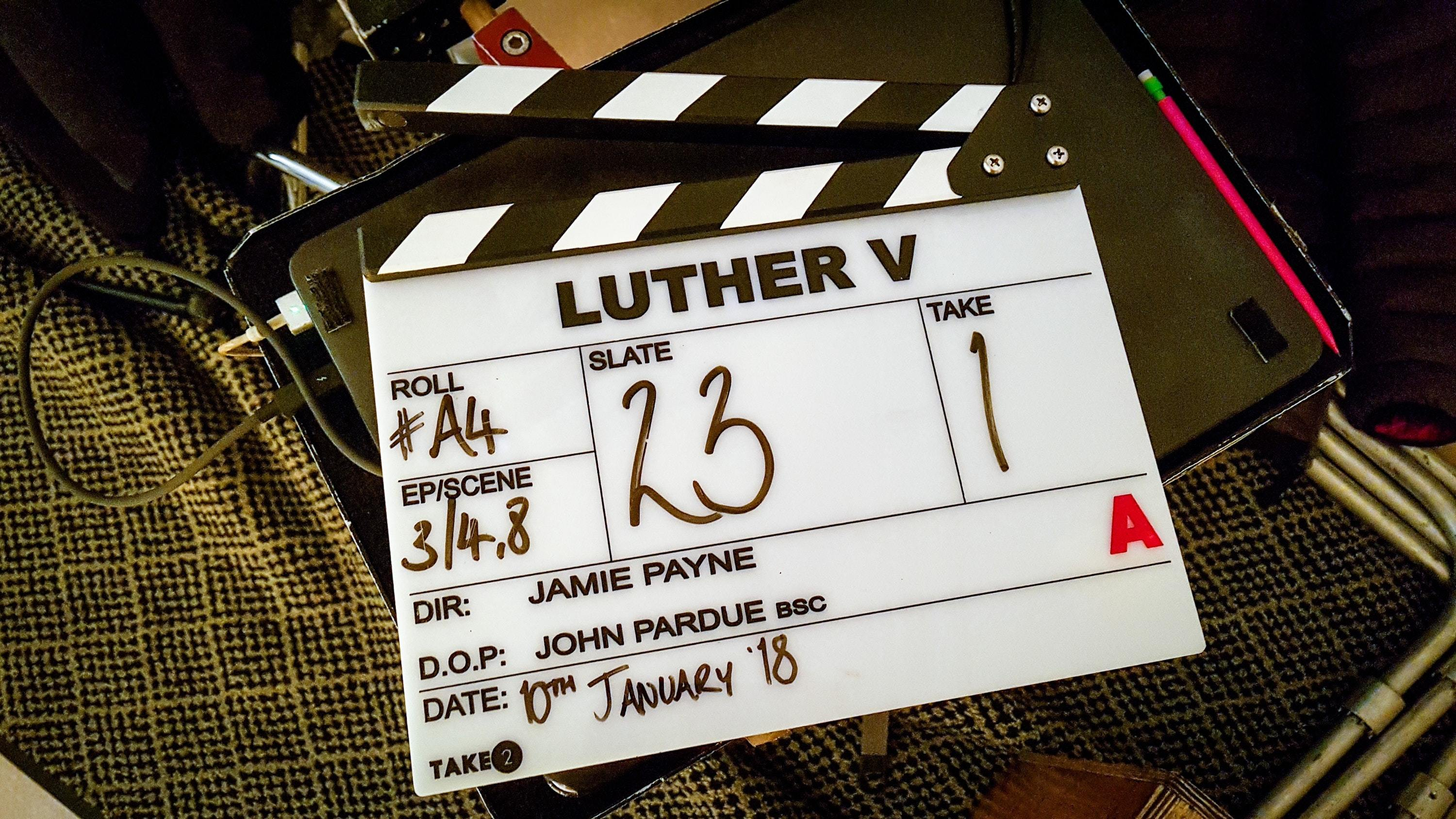 Luther has started filming (BBC/PA)