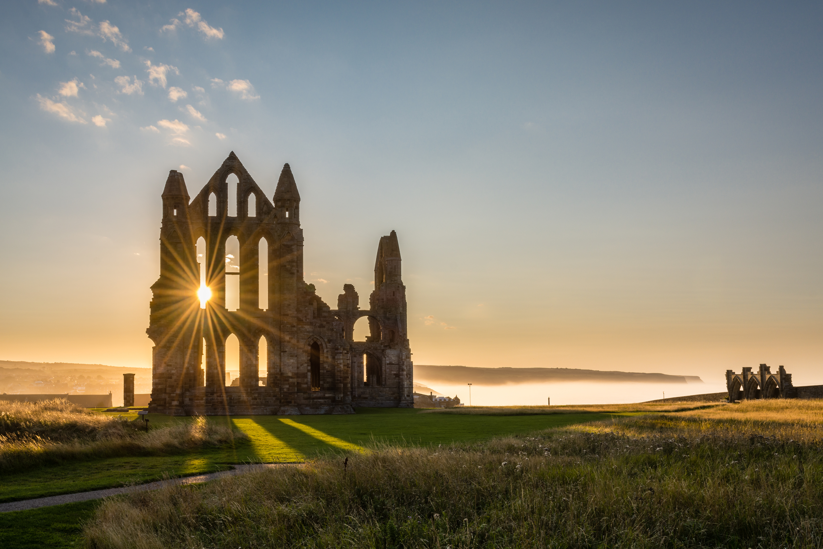 The Gothic ruins of Whitby Abbey (iStock)