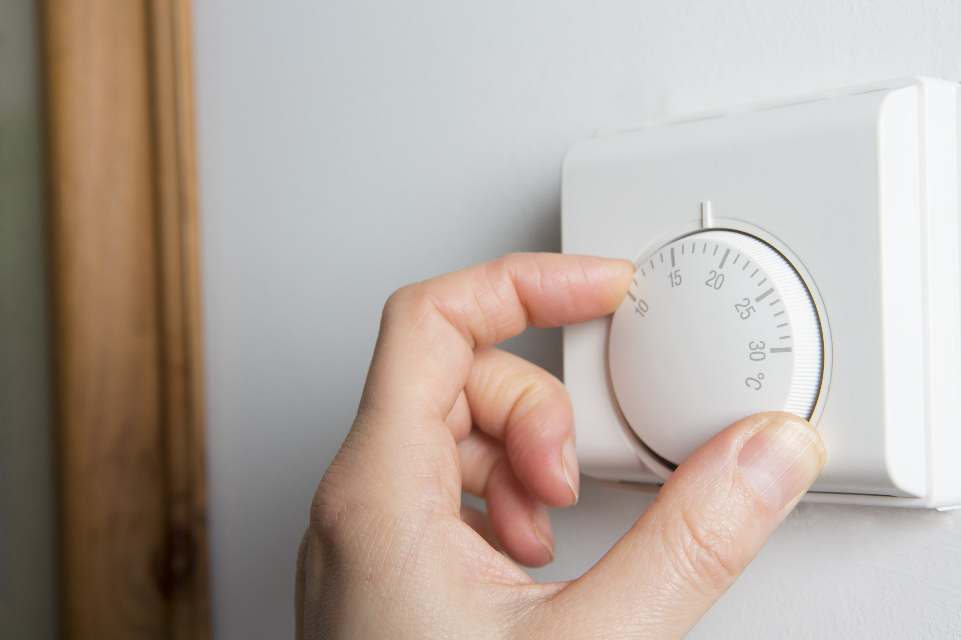 """""""Climate damage"""" caused by people using electricity, gas and other fuels to power and heat their homes has dropped (iStock)"""