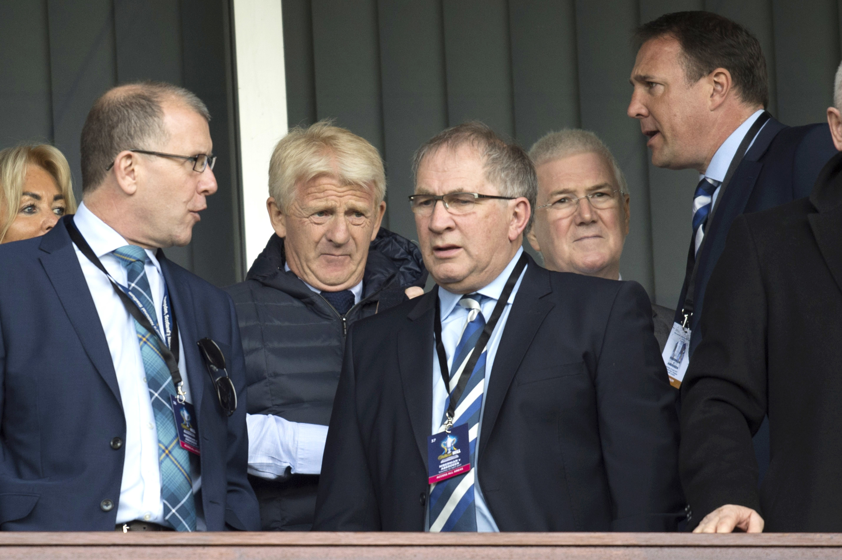 The failure of Stewart Regan and Alan McRae to replace Gordon Strachan has left the SFA in a mess (SNS Group / Rob Casey)