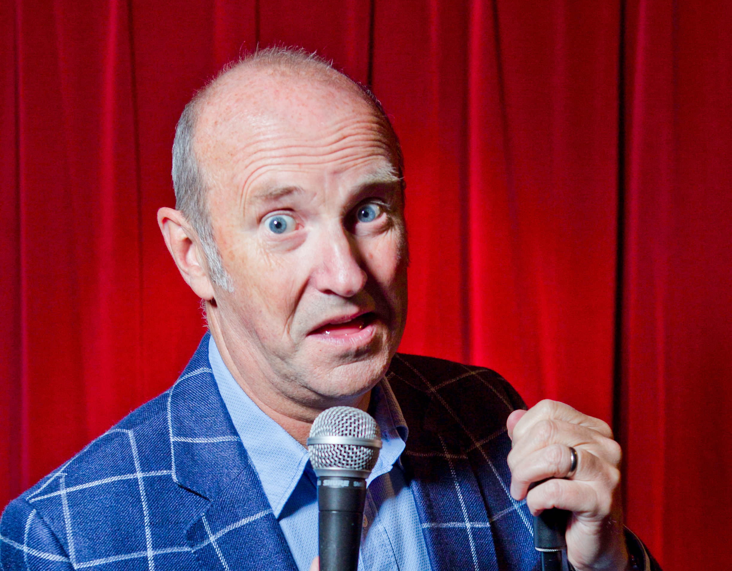 Fred MacAulay will be performing at the Glasgow Comedy Festival (Andrew Cawley/DC Thomson)