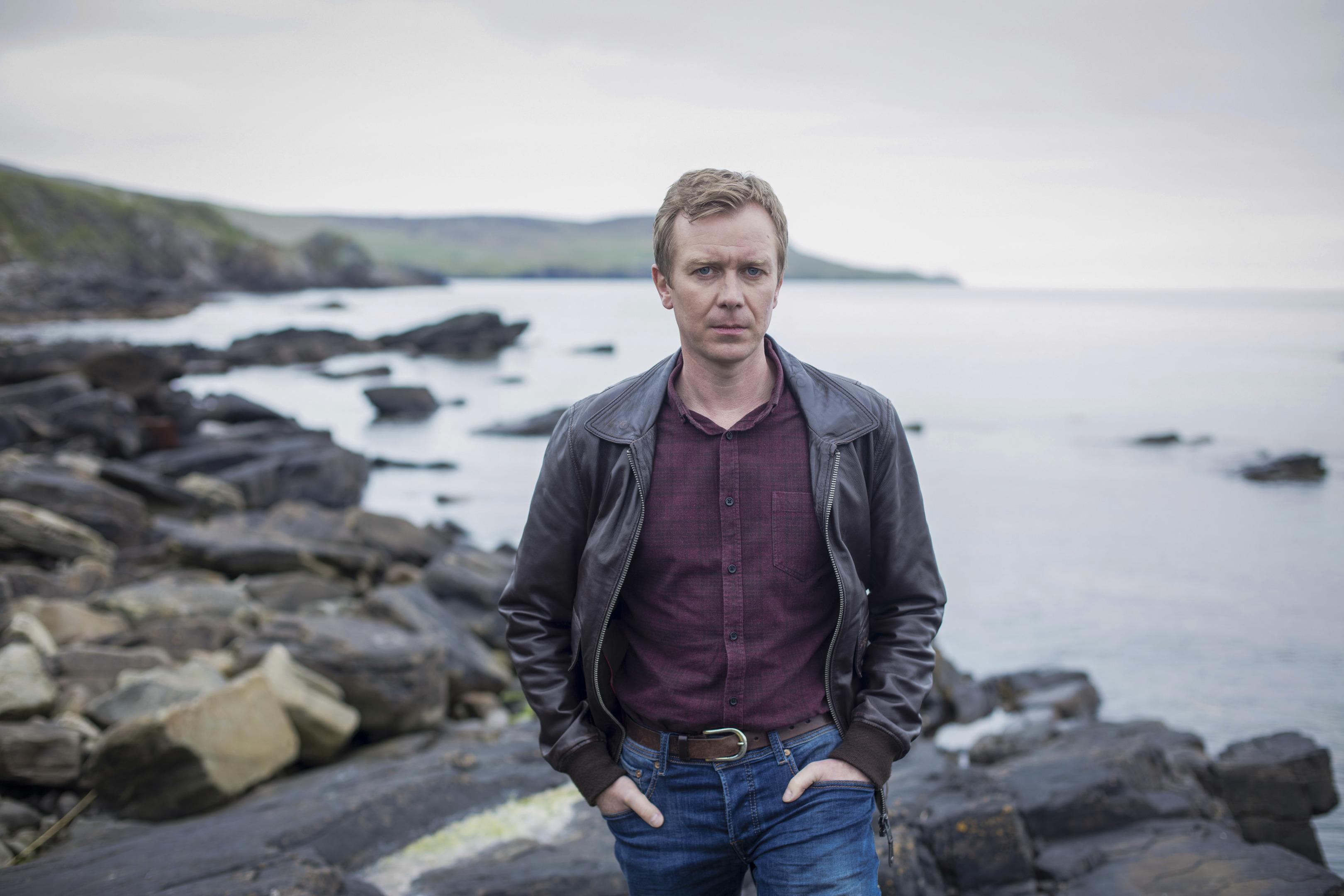 Steven Robertson plays DC Sandy Wilson in ITV drama Shetland (ITV Studios / Mark Mainz)