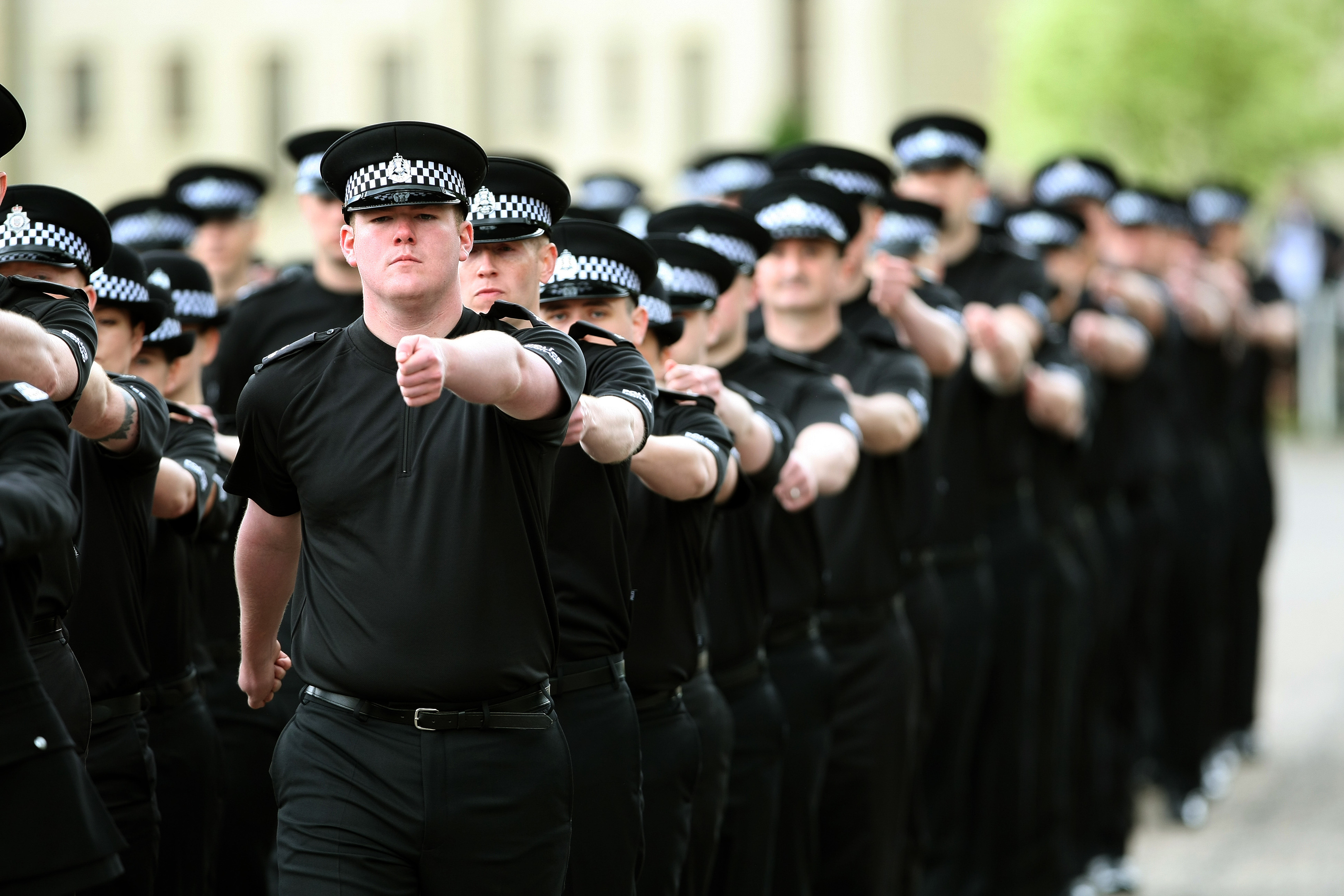 Police Scotland passing out parade (Kris Miller/DC Thomson)